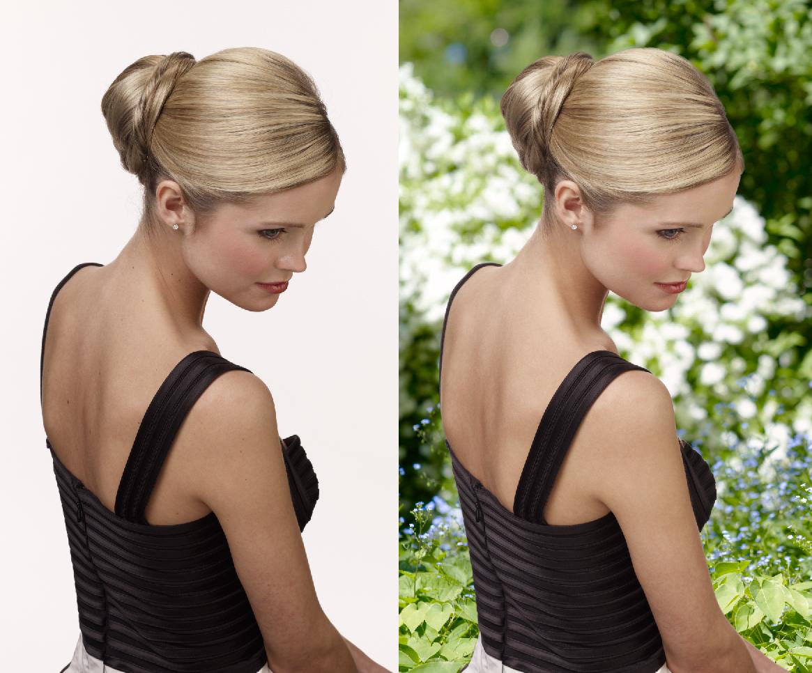 Photo retouching, scünci