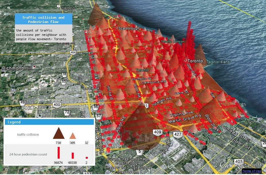 Toronto Accident Data Map
