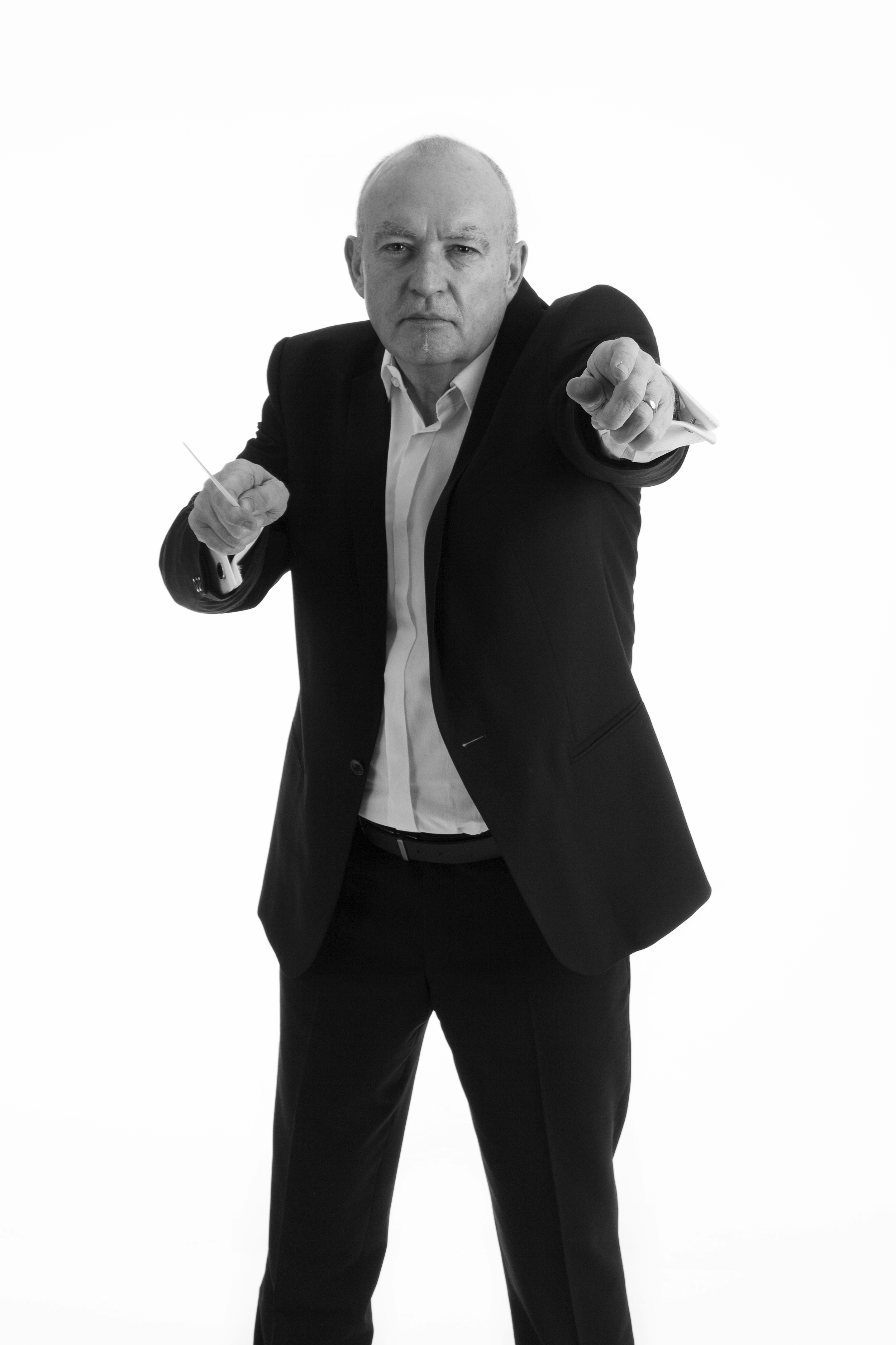Allan pointing-black and white.png