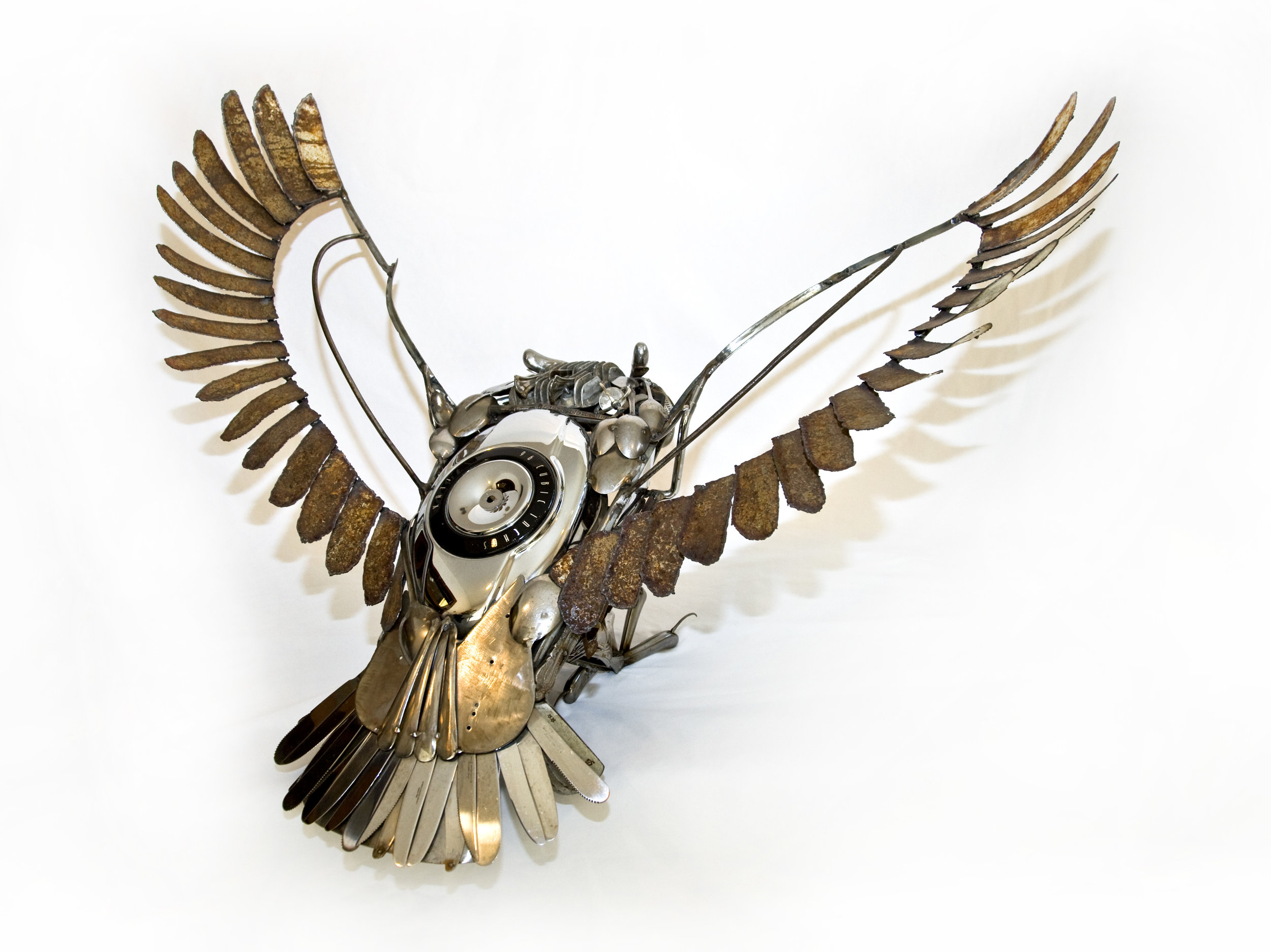 "There are many more items on ""Jim's Owl"" and each one has its own story to tell. A collection of memories from the past united together, they take on the form of the wise, fearless, courageous owl...which is how she sees the man whom she married."