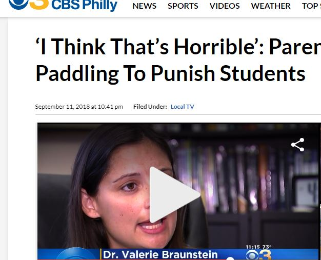 Click on image to see interview with CBS 3 Philadelphia