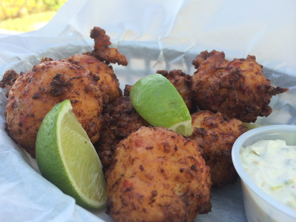 Sundancer Grill Lake Travis Conch Fritters