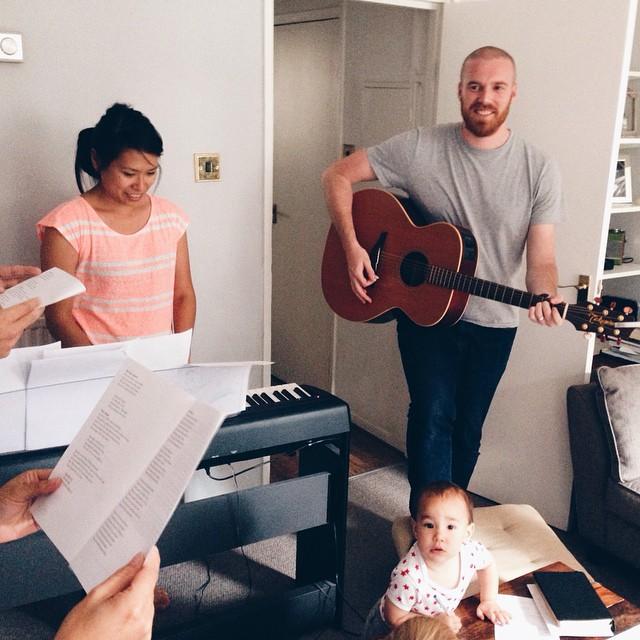 Living room worship