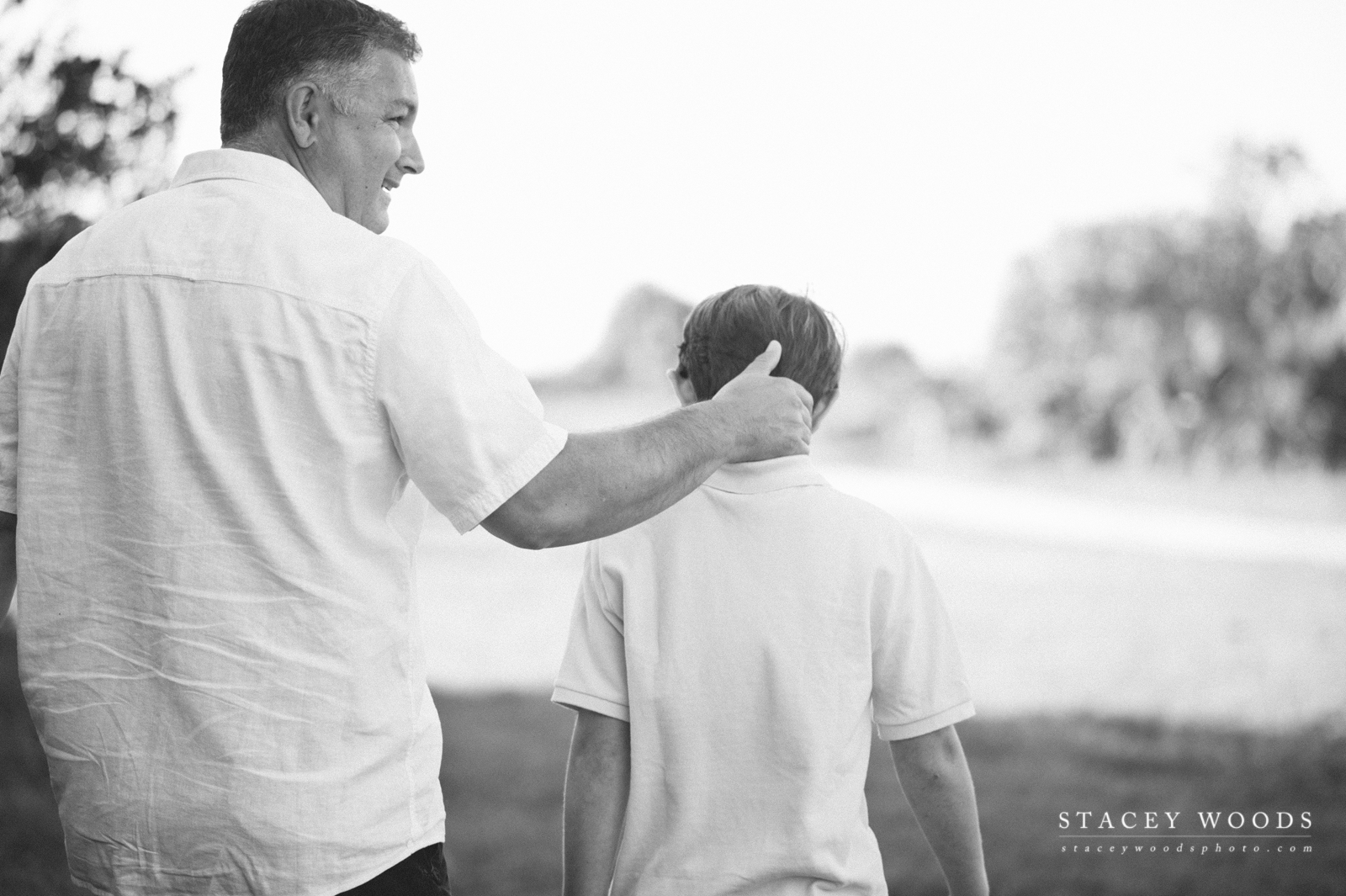 Dad and Son, lifestyle photography by Stacey Woods