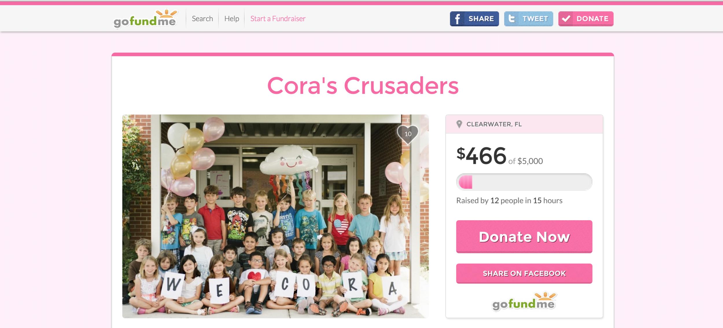 Cora's Crusaders