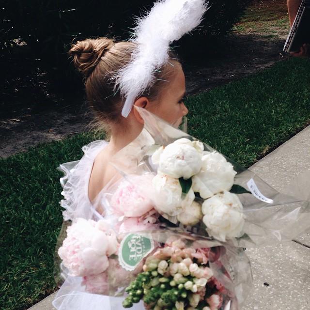 Lila's first ballet recital