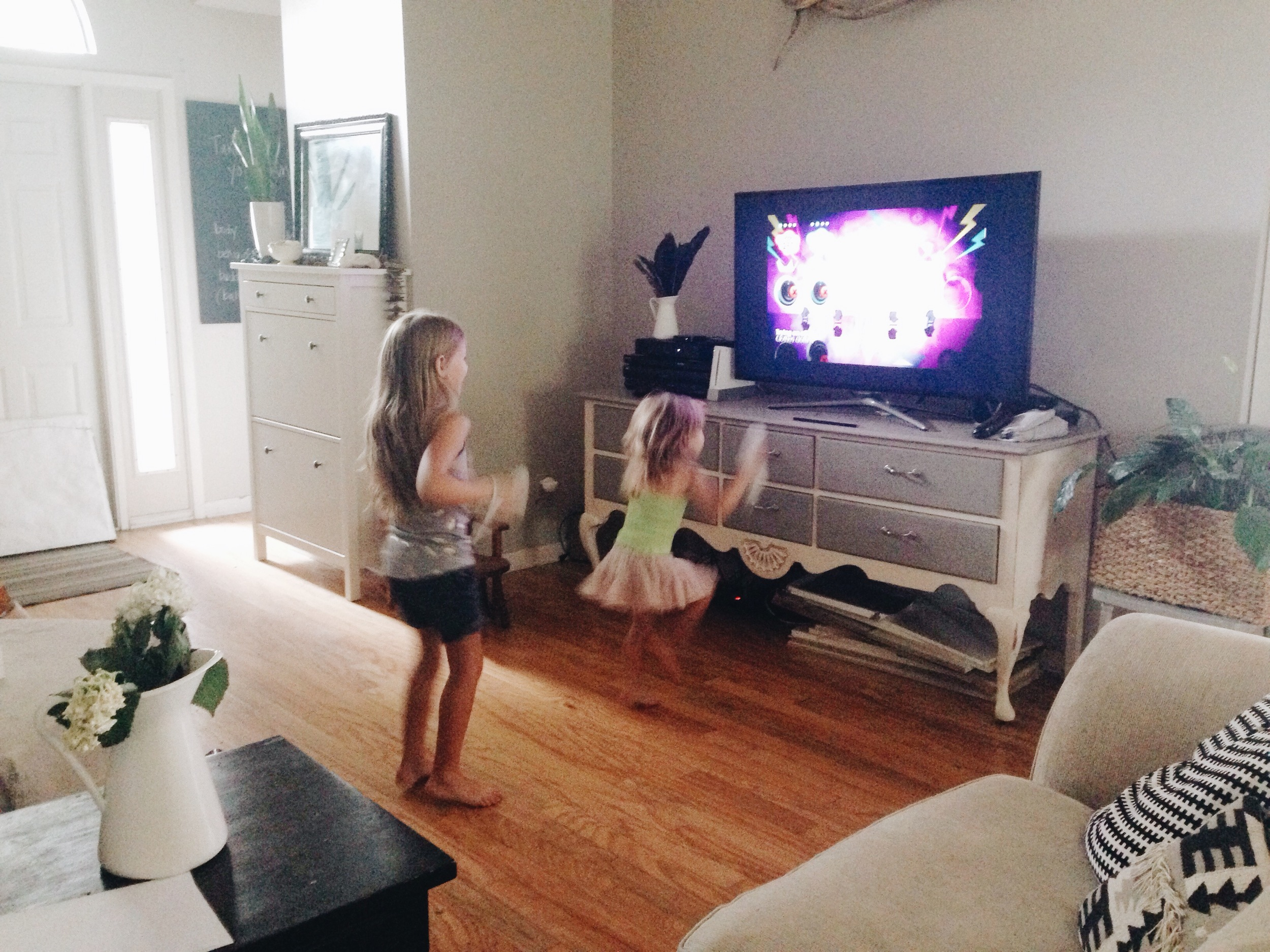 Just Dance fun, Stacey Woods