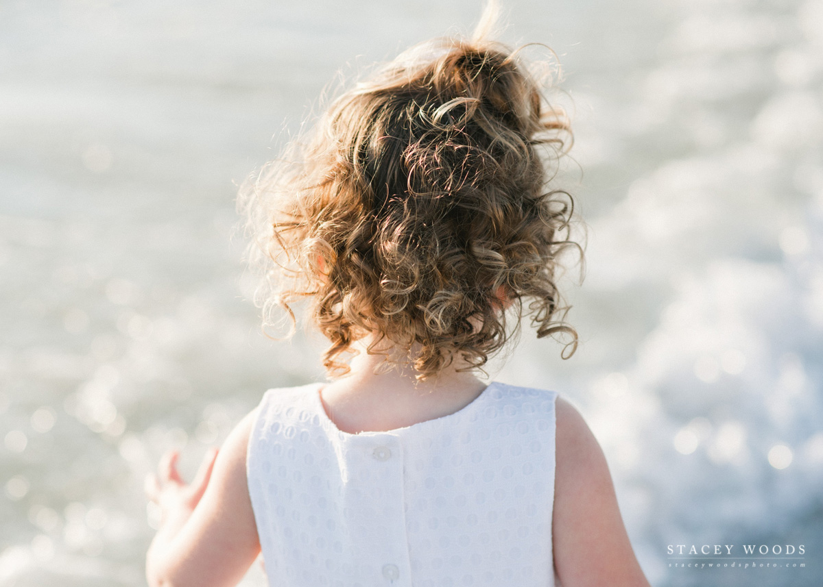 Little Girl Curls, photography by Stacey Woods