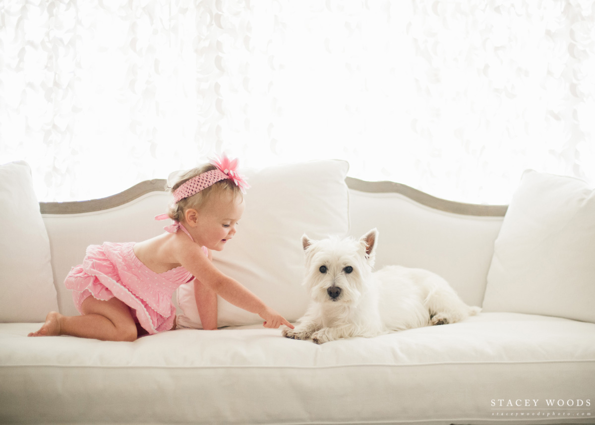 Sister and Fur Brother, by Stacey Woods