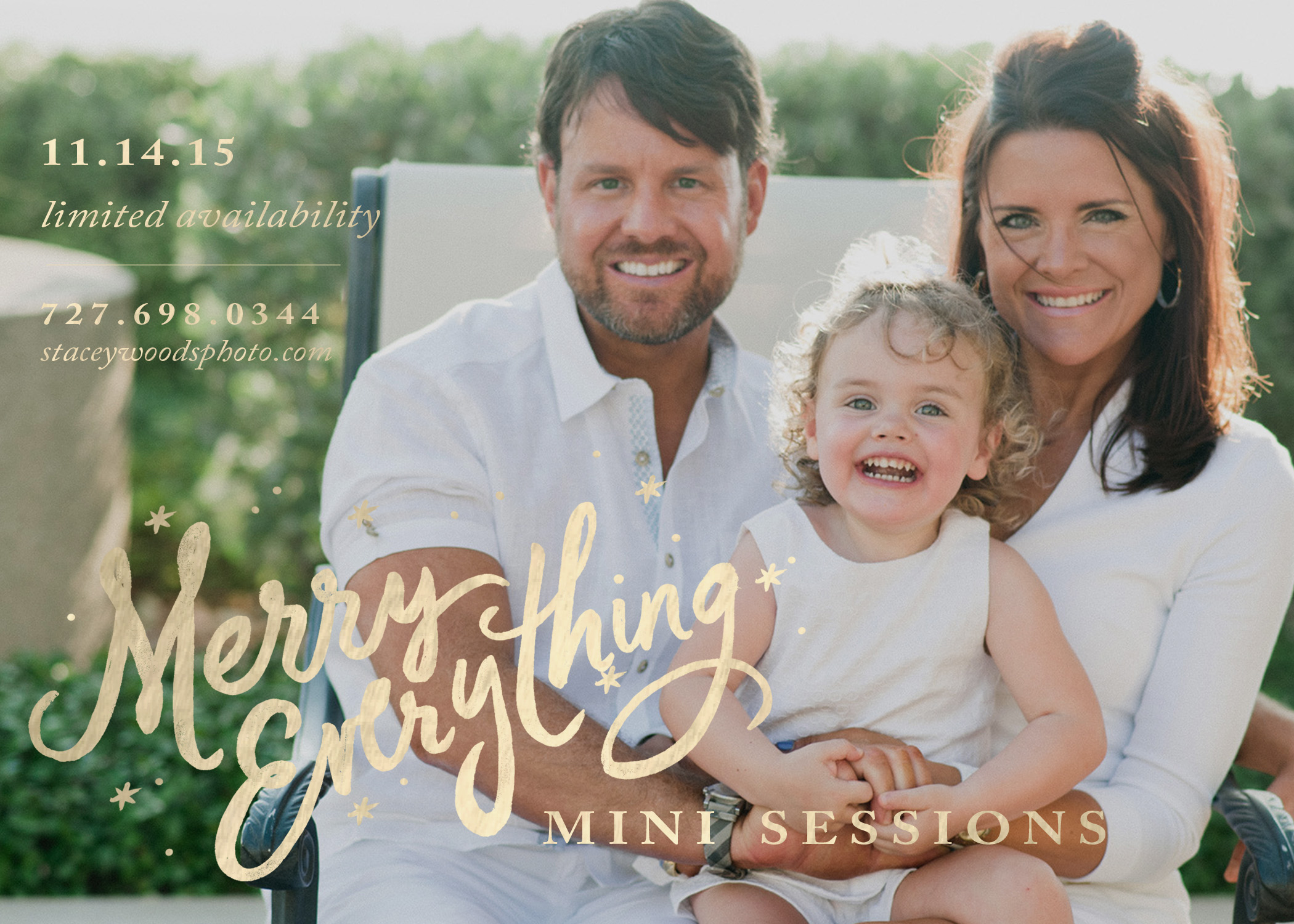 Tampa Bay Beach Photography Mini Sessions