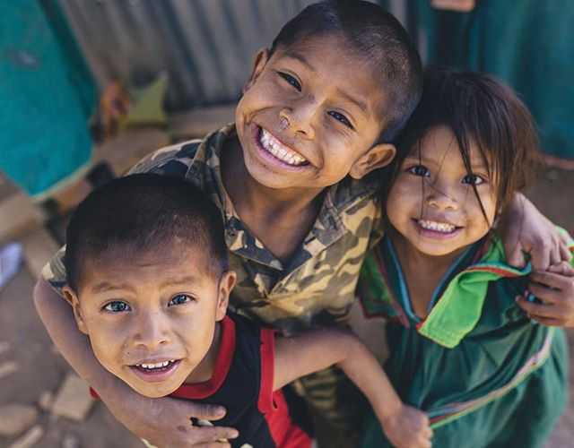 Sergio - Elegio - Milé It was worth it just to get to know these three better. . . . 📸@beaudoesgo #gofundme #hardwork #project #niños #panama #project #camping #smile #child