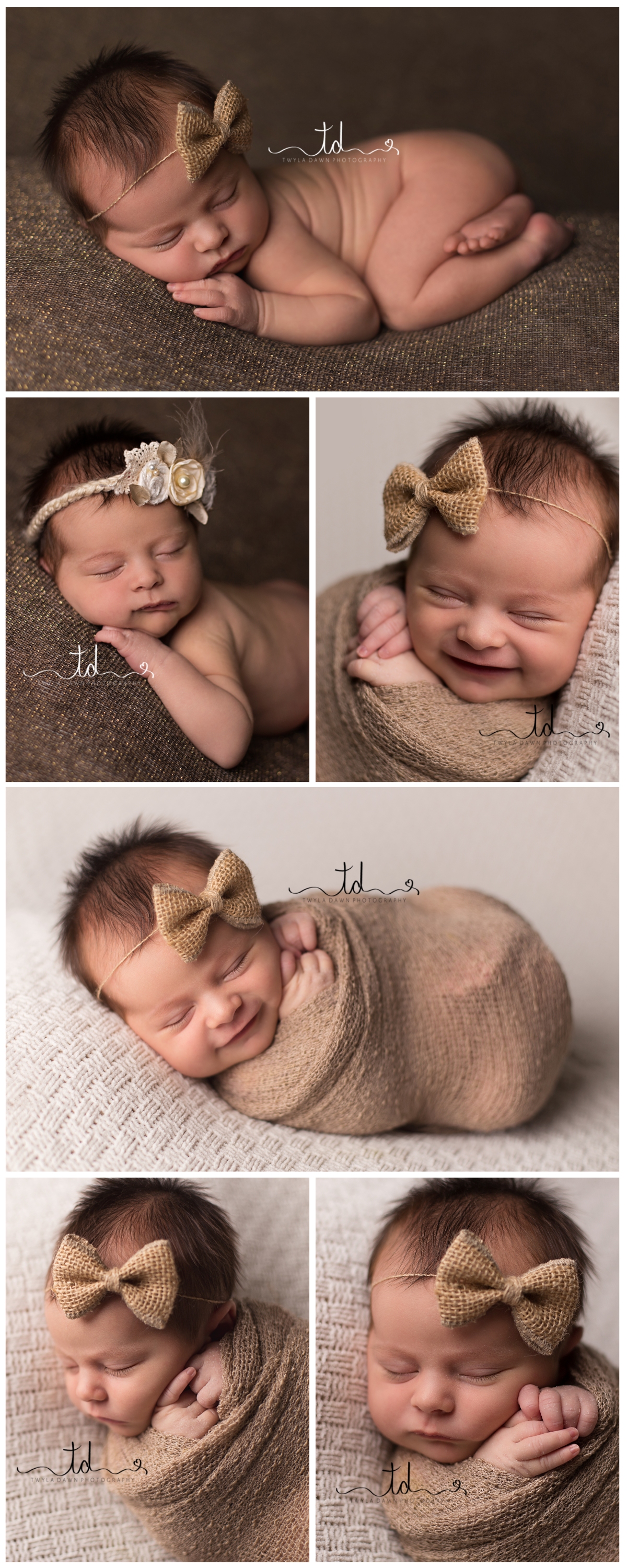 Heber_Newborn_photographer_baby_girl_brown_wrap