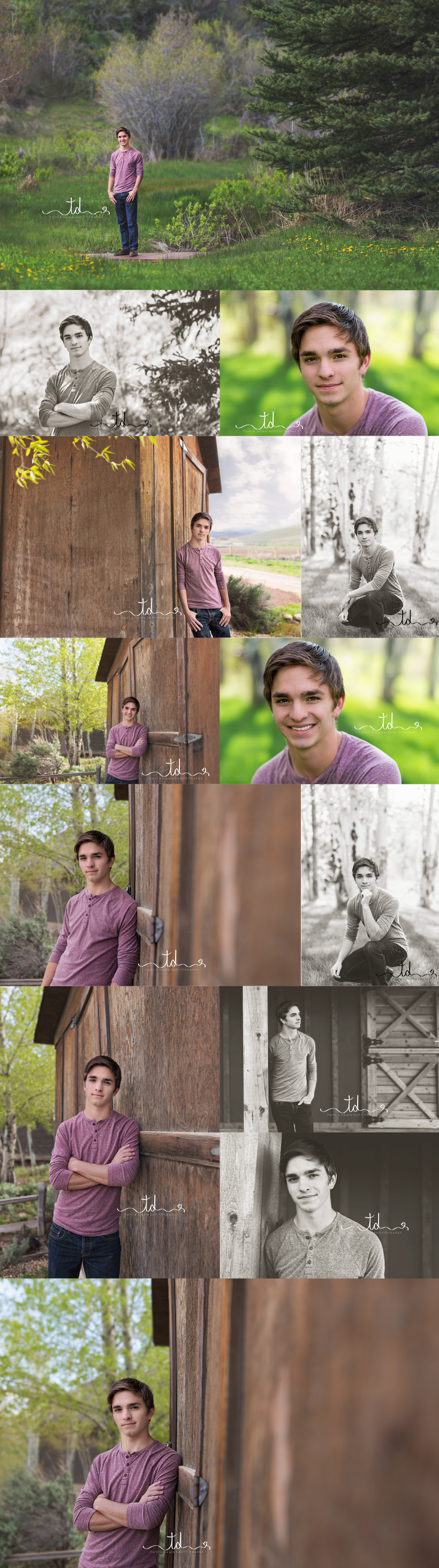 Park City Senior Photography | Outdoor Senior Session