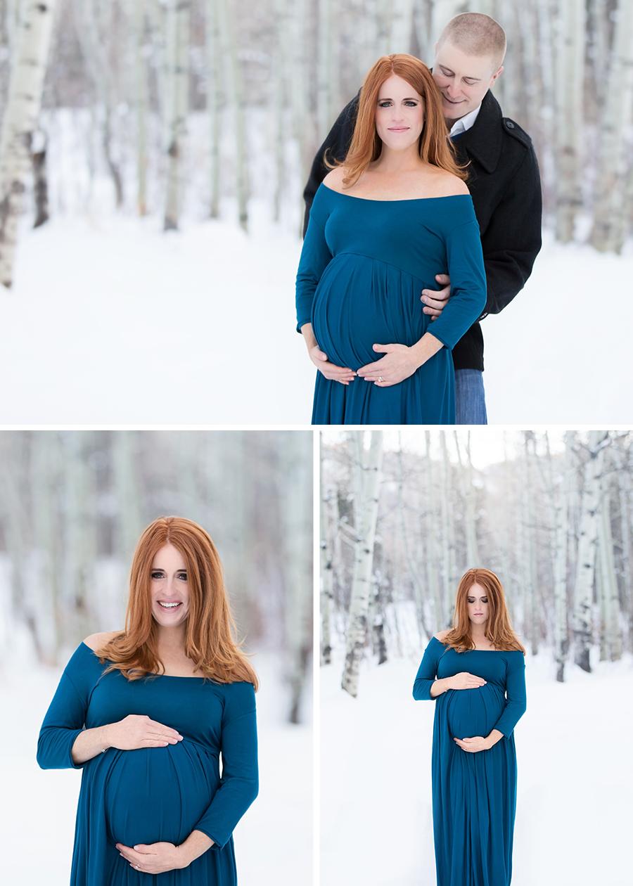 Utah Maternity Photographer, Utah Winter Maternity #twyladawnphotography
