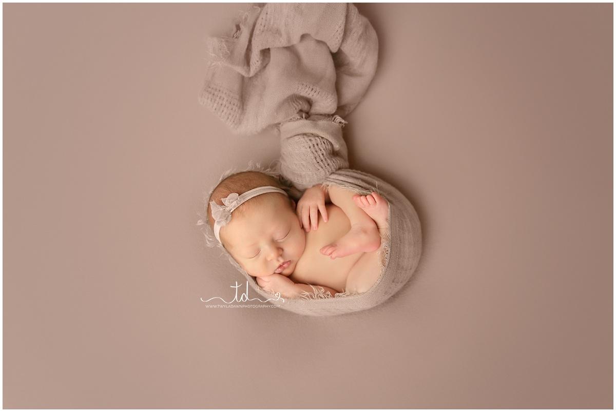 "Newborn ""hanging"" pose | Utah Newborn Photographer #twyladawnphotography"