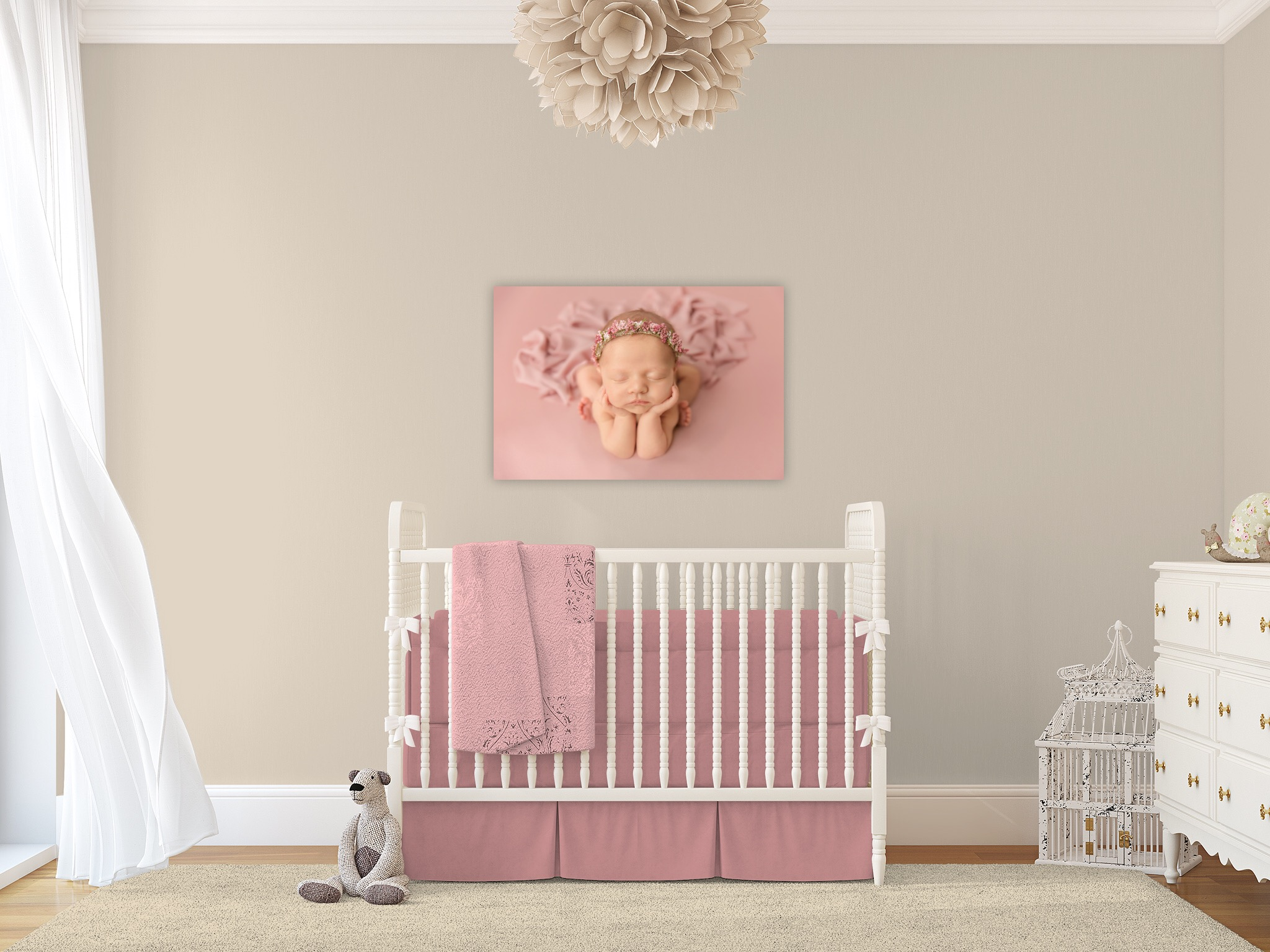 Utah Newborn Photographer | Baby nursery design #twyladawnphotography