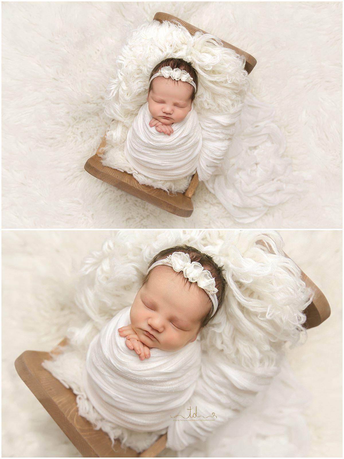 Utah Baby Photographer | Utah Newborn Photographer | Swaddled Prop Posing | #TwylaDawnPhotography