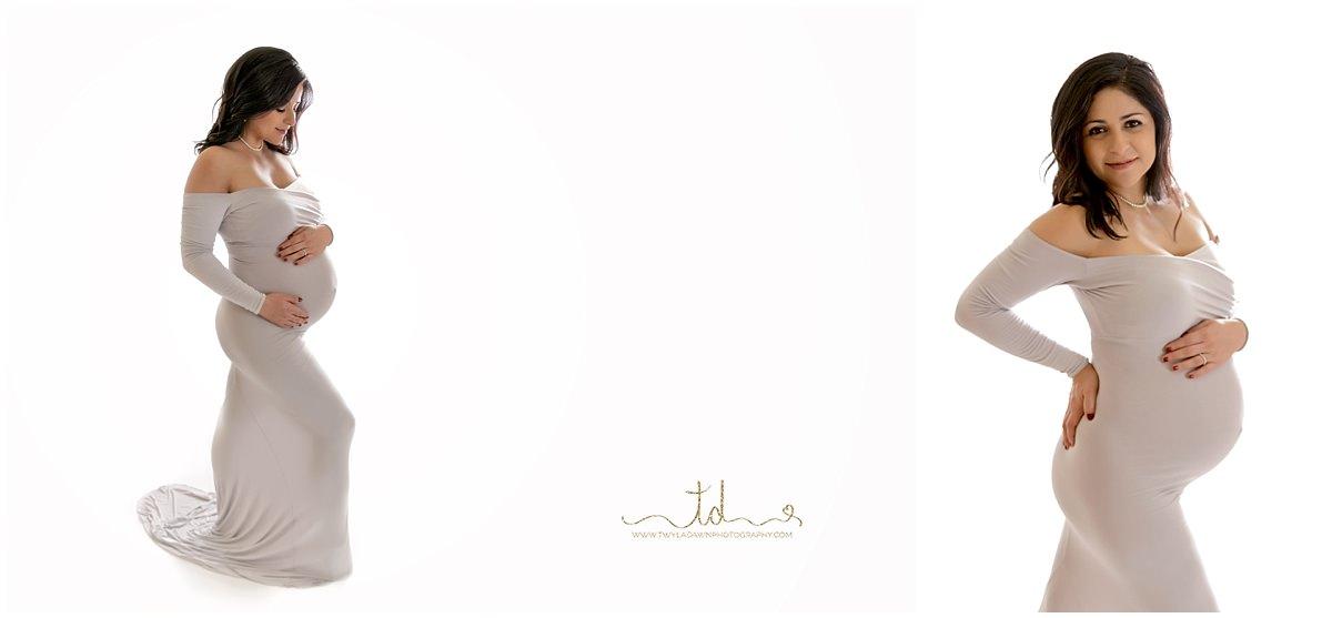 Utah Maternity Photographer | Studio Back Light Session | Maternity Photography | #TwylaDawnPhotography