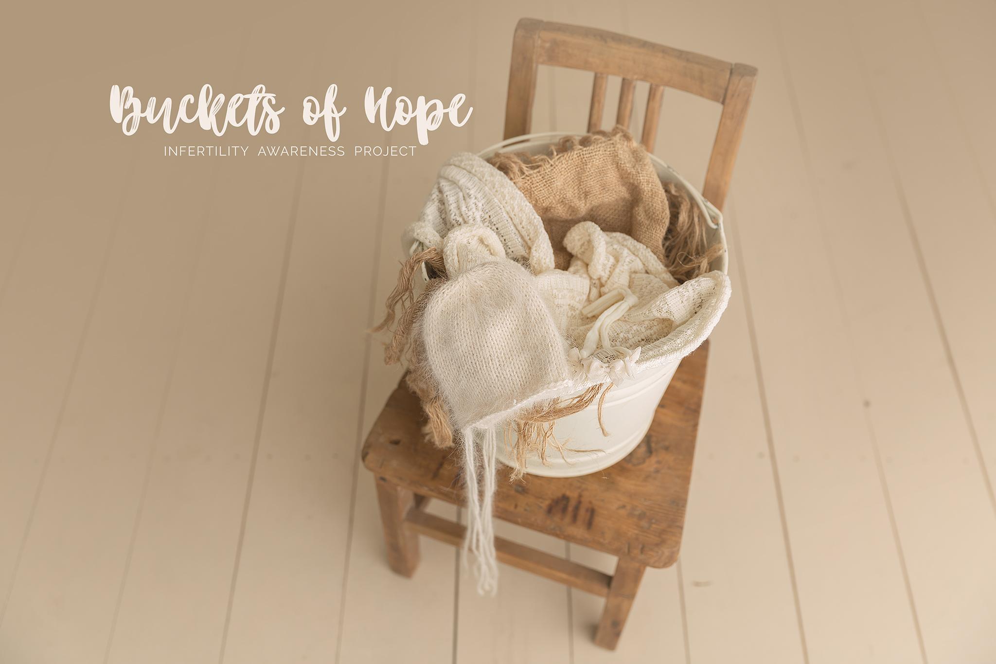 Buckets of Hope | Utah Newborn Photographer | Utah baby photographer | Salt Lake Infant Portraits | Utah Baby Photographer