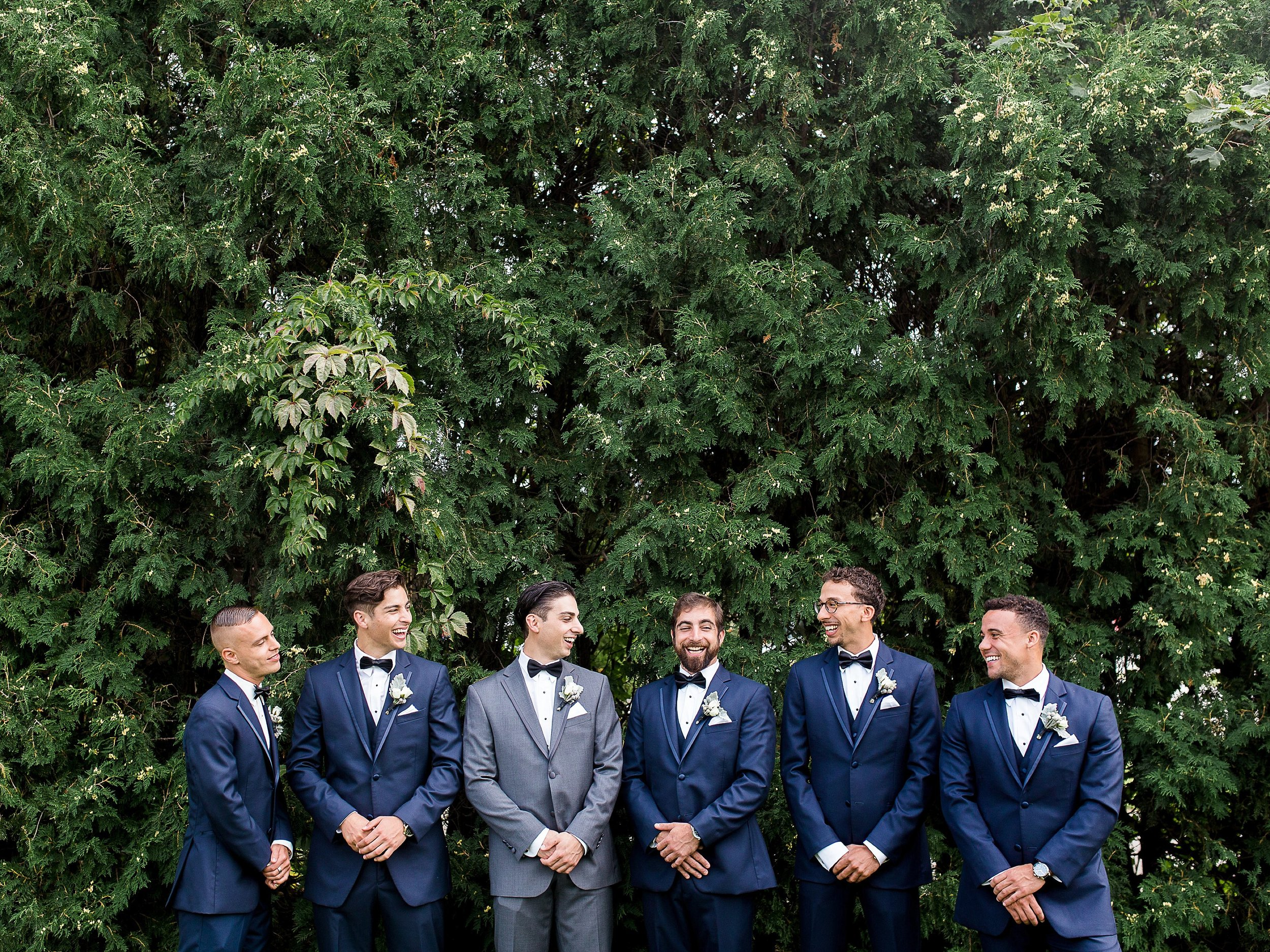 Groomsmen portraits | photographed by Toronto Ontario Wedding Photographer Keila Marie Photography