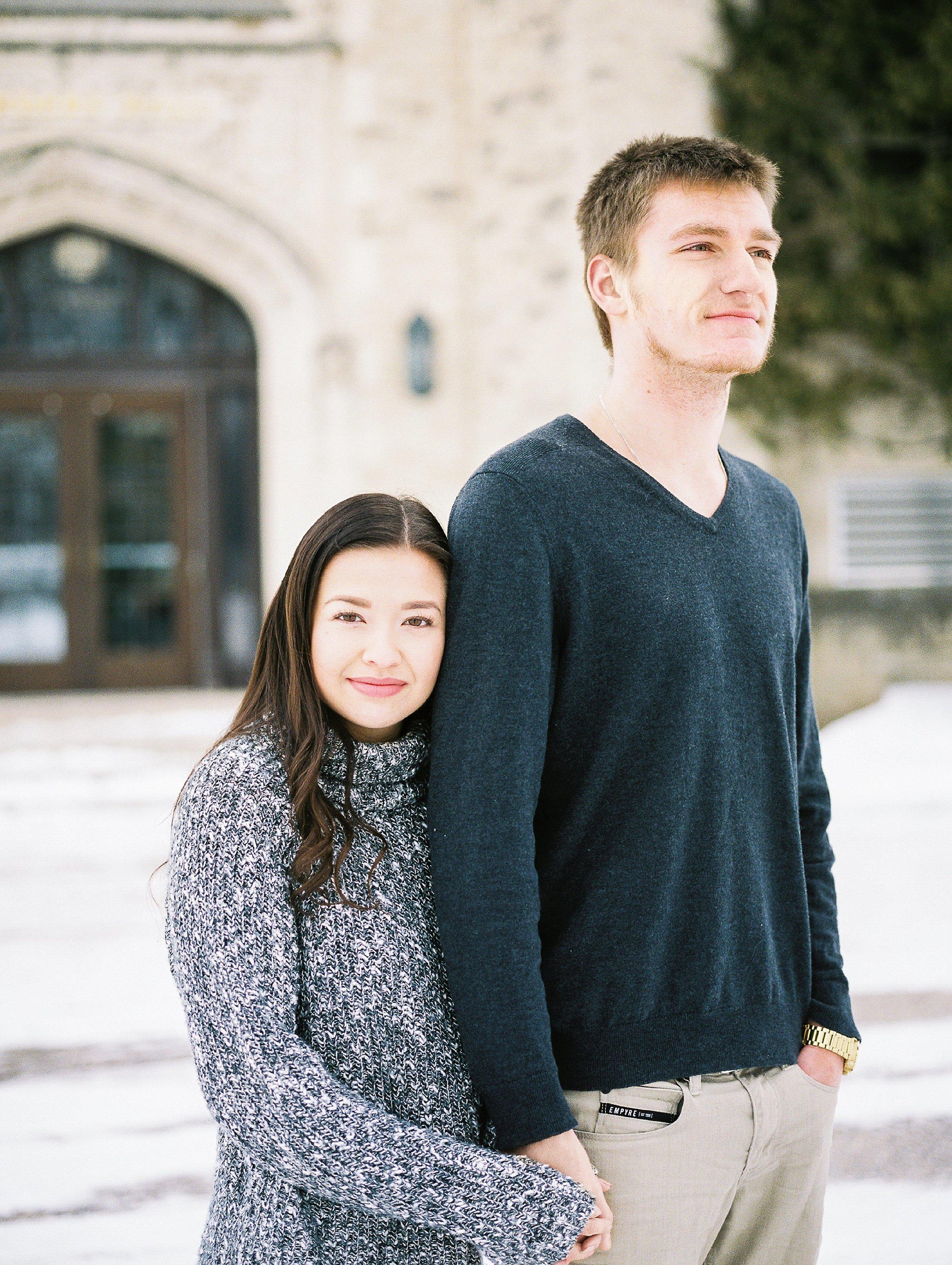 Winnipeg wedding photographer - Photoshoot at Canadian Mennonite University - Keila Marie Photography