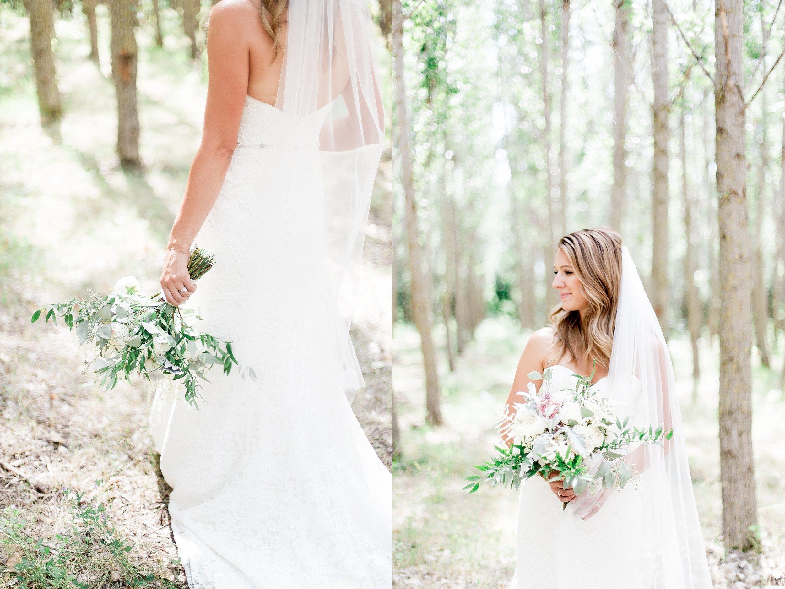 Winnipeg Wedding Photographer Keila Marie Photography   Bridal portraits   Garden inspired wedding