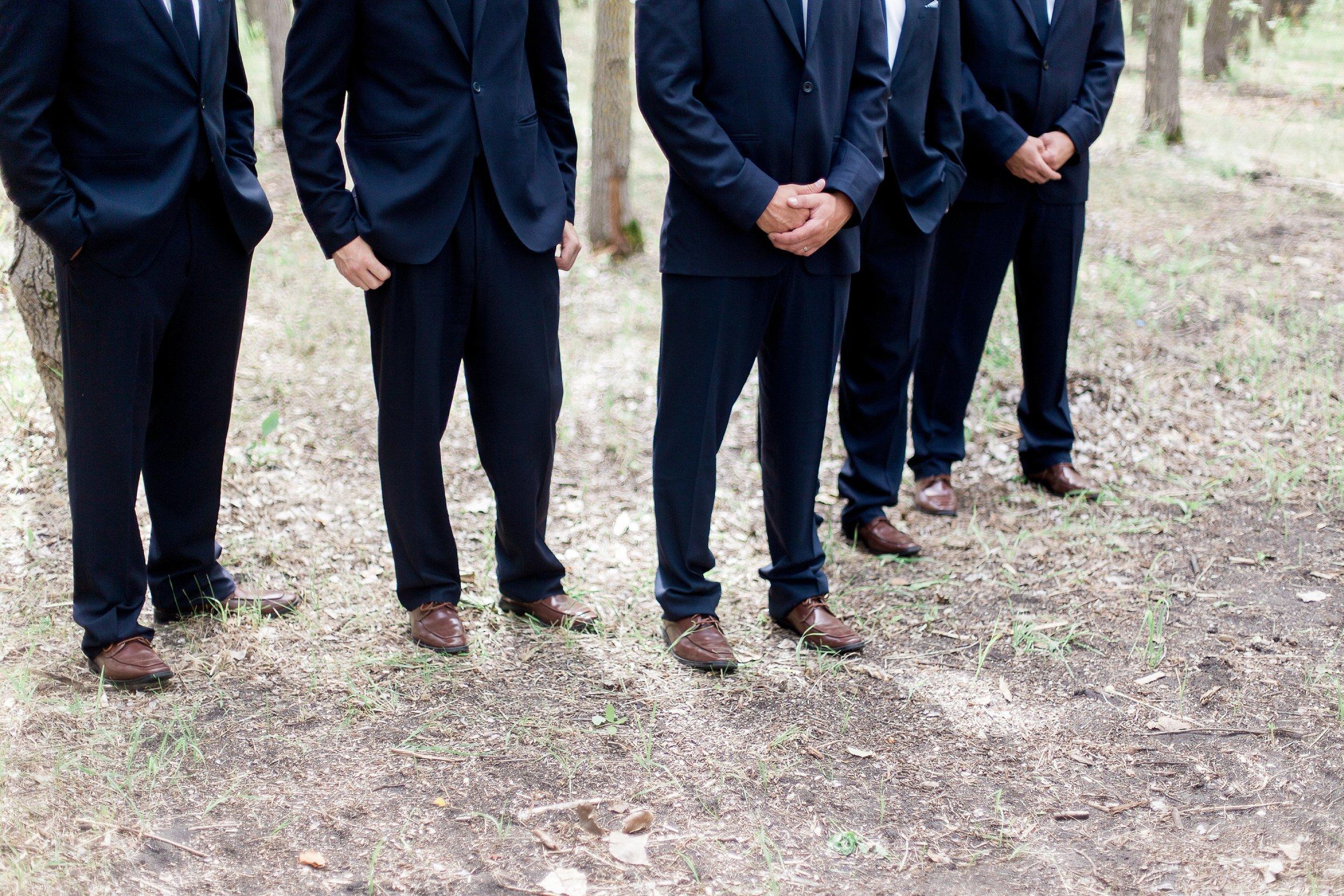 Winnipeg Wedding Photographer Keila Marie Photography   Groomsmen photos  Garden inspired wedding