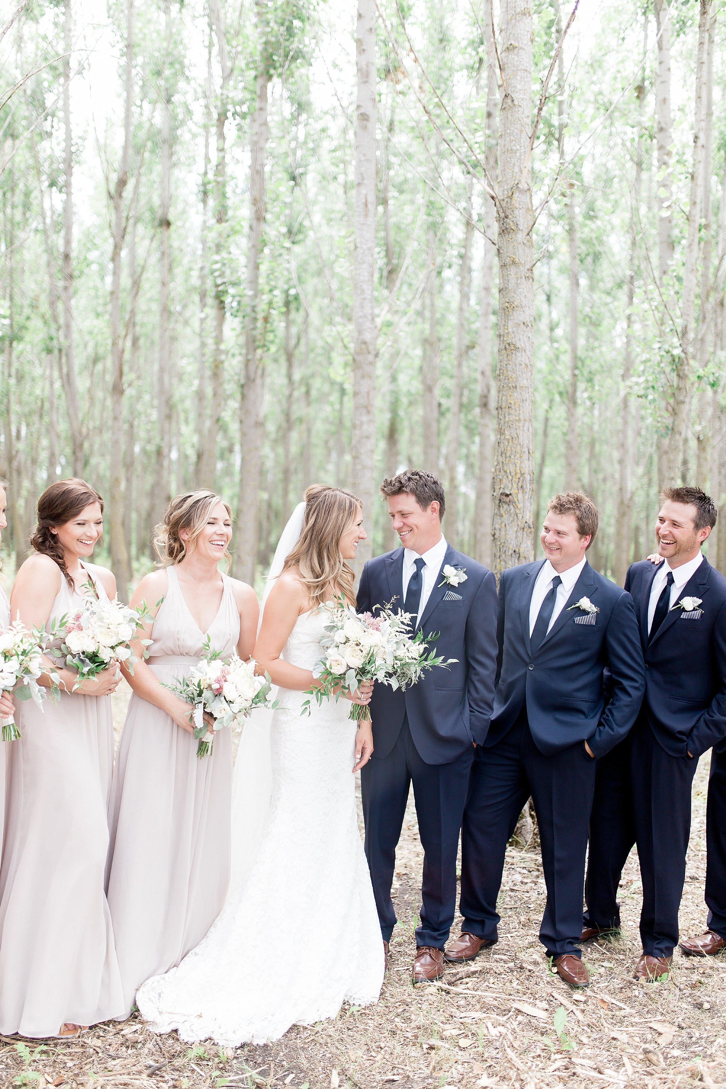 Vancouver Wedding Photographer Keila Marie Photography   Bridal party photos  Garden inspired wedding