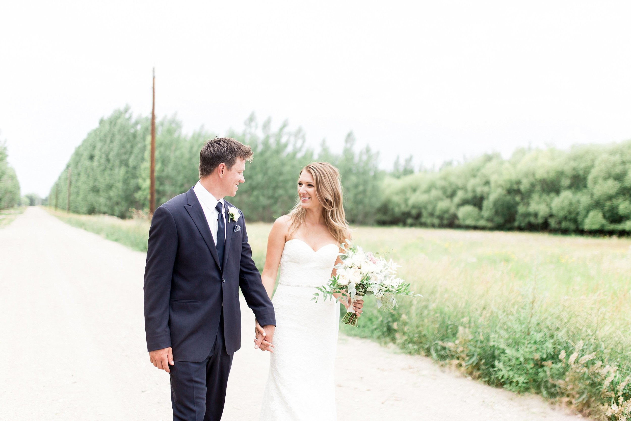 winnipeg wedding photographer   Keila Marie Photography   romantic Bride and groom portraits  Garden inspired wedding
