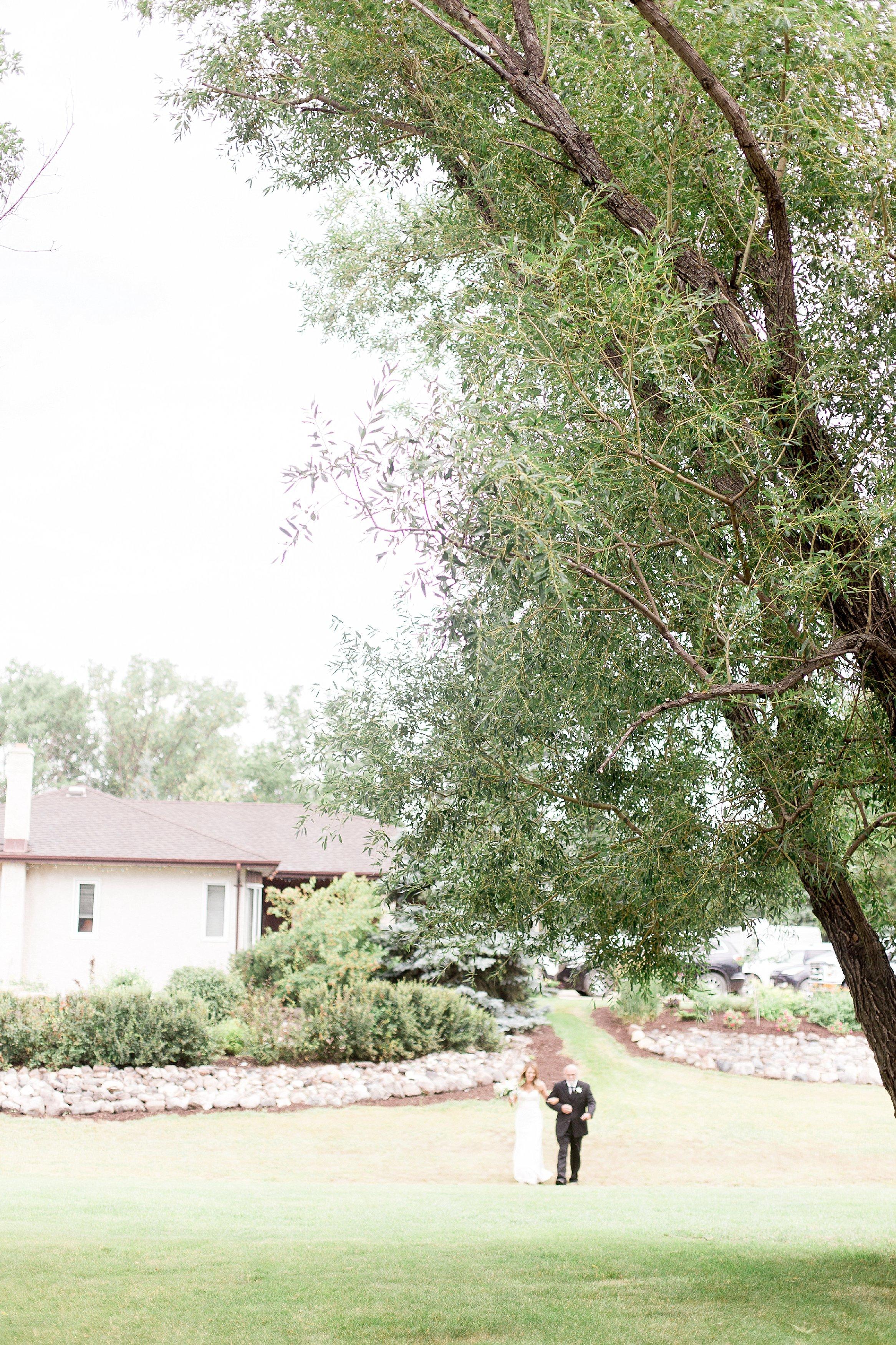 Winnipeg wedding photographer   Keila Marie Photography   Garden inspired wedding   Intimate backyard wedding