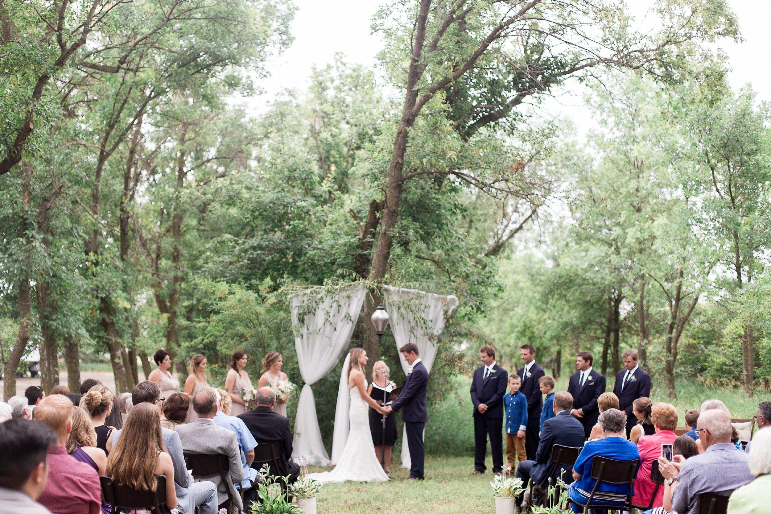 Vancouver wedding photographer   Keila Marie Photography   Garden inspired wedding   Intimate backyard wedding