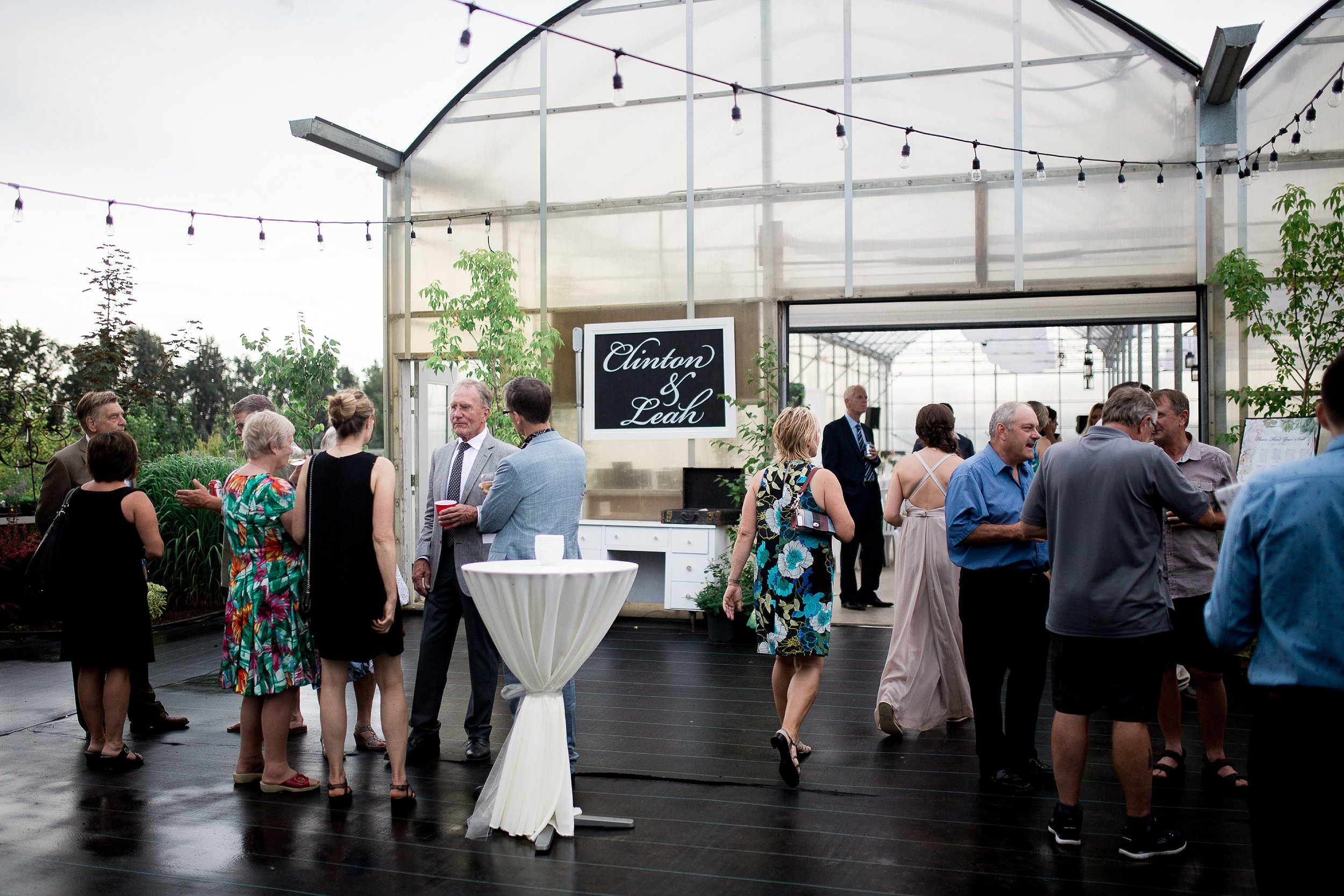 Wedding reception in a greenhouse   Reception ideas   Keila Marie Photography   Vancouver Wedding Photographer
