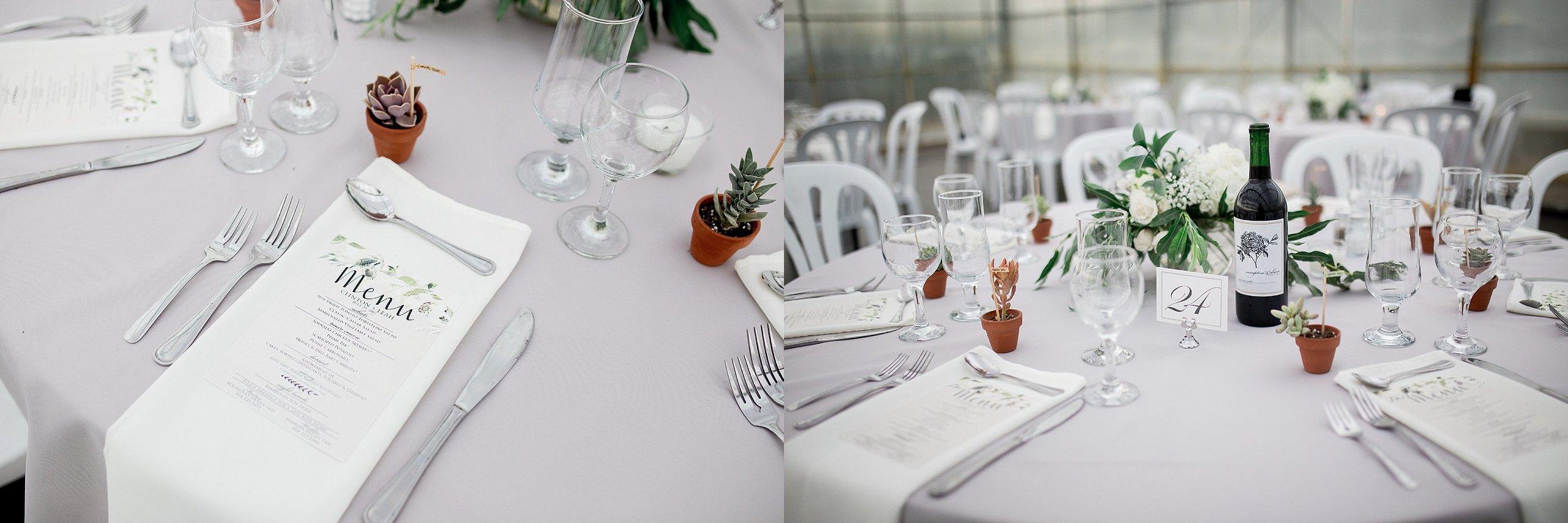 Greenhouse wedding reception   Reception ideas   Keila Marie Photography   Manitoba Wedding Photographer