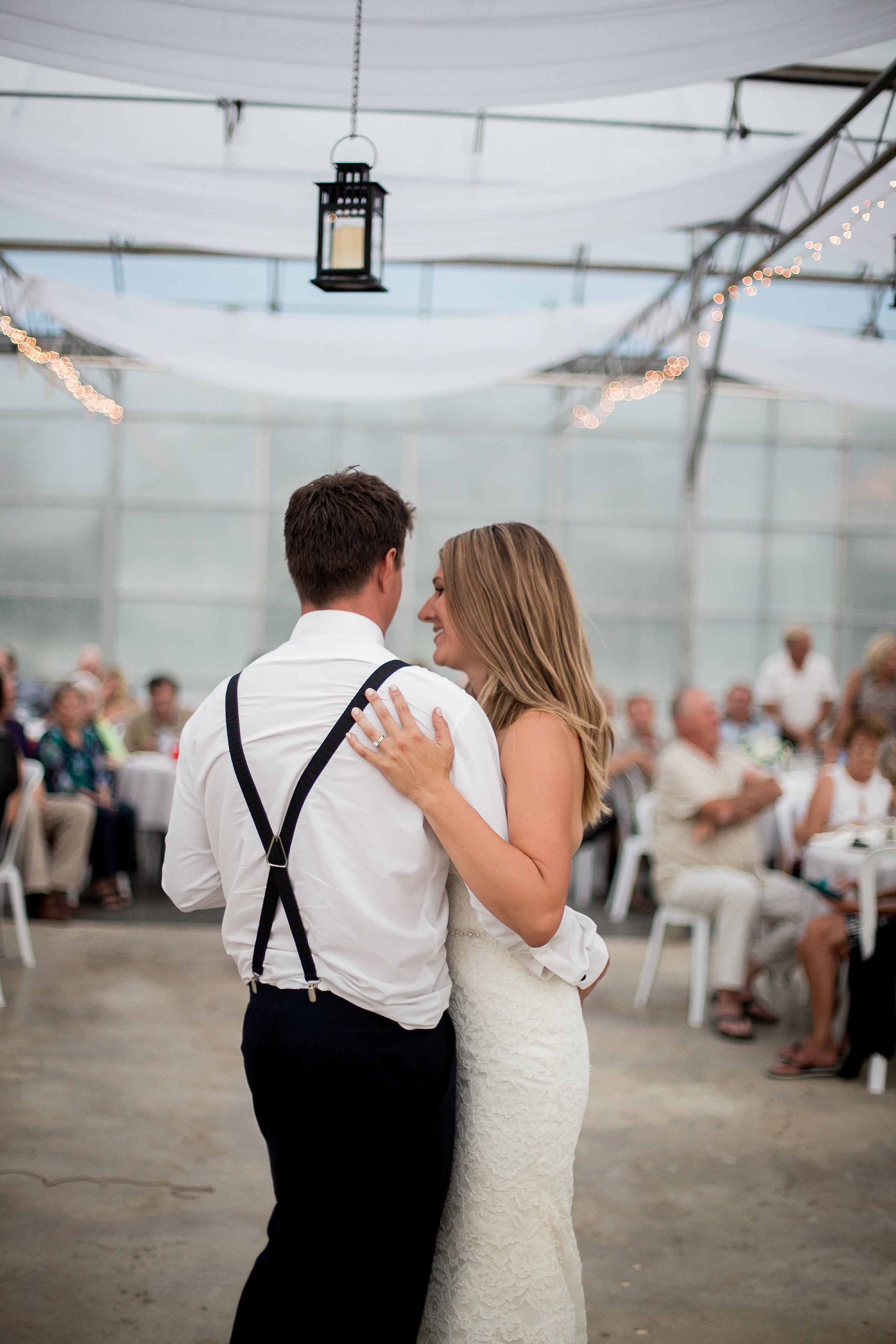 Greenhouse wedding reception   First dance photos   Keila Marie Photography   Vancouver Wedding Photographer