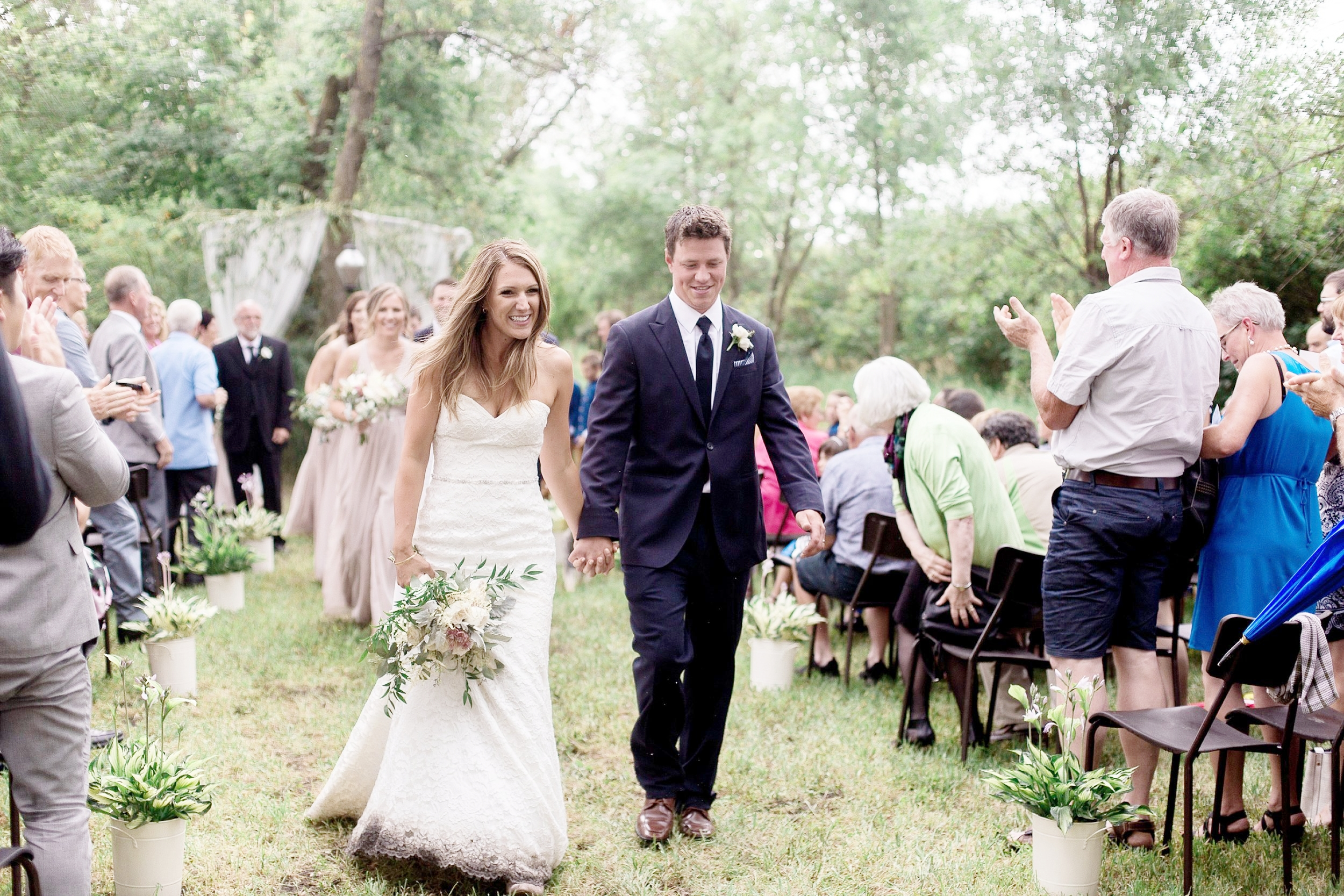 Toronto wedding photographer   Keila Marie Photography   Garden inspired wedding   Intimate backyard wedding
