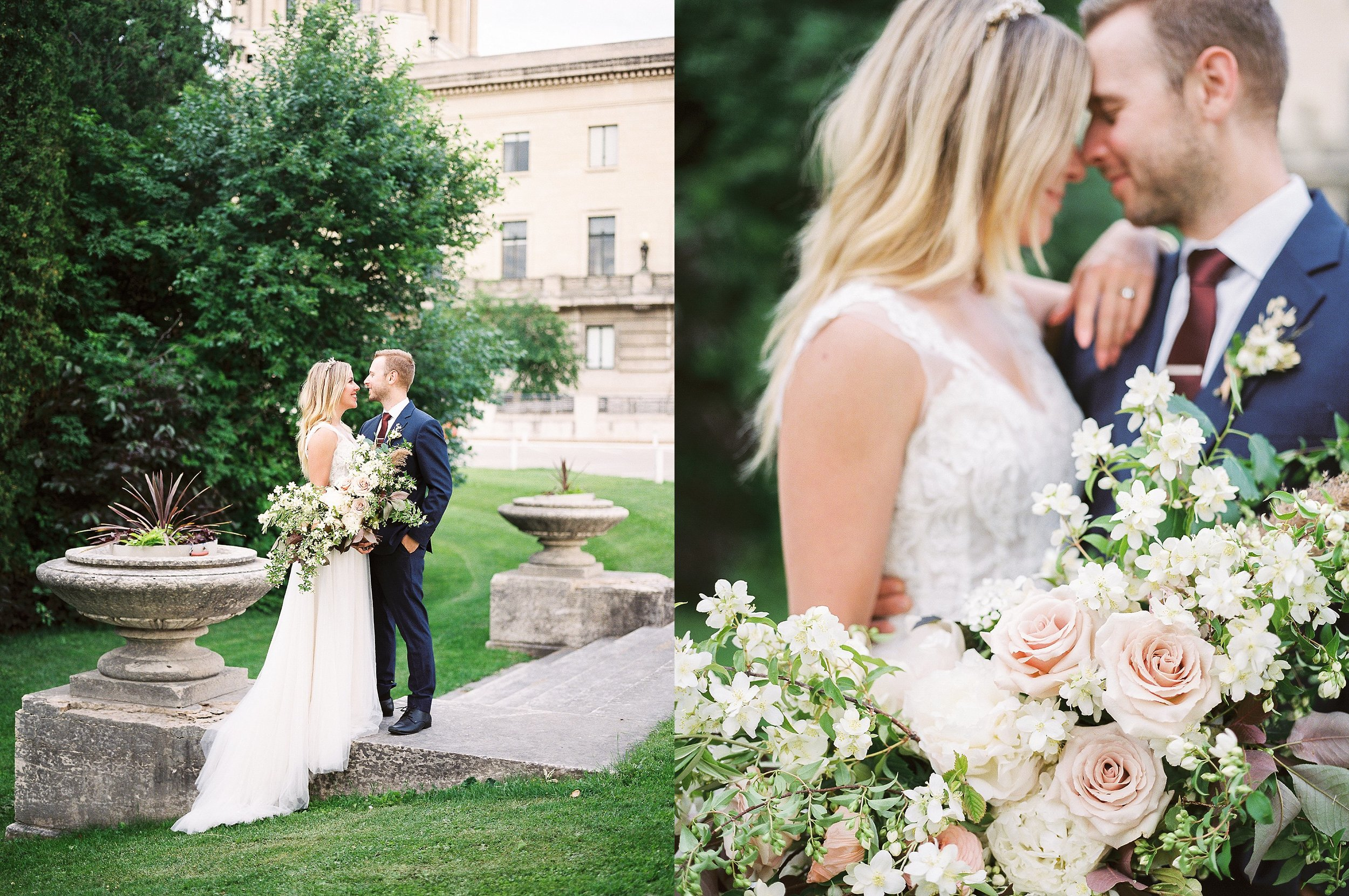 Wedding Photos taken at Manitoba Legislative Building | Winnipeg Wedding Photographer Keila Marie Photography