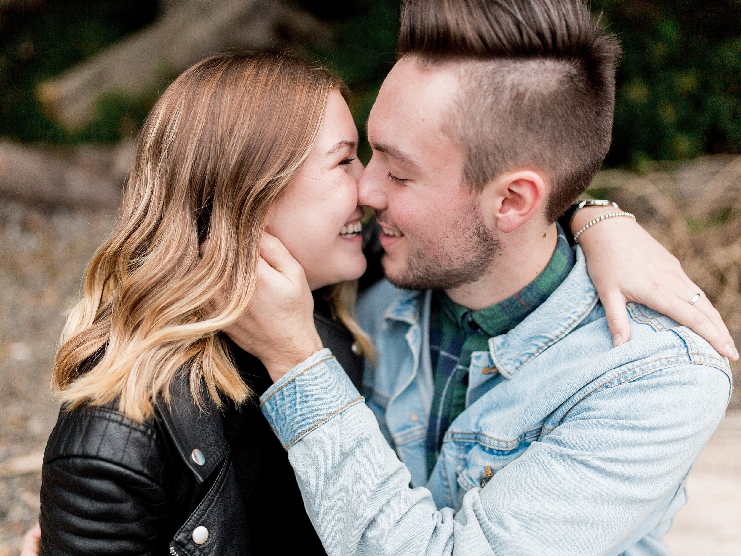 Vancouver Engagement Session, PNW Wedding Photographer, Cute Engagement Session poses, Keila Marie Photography