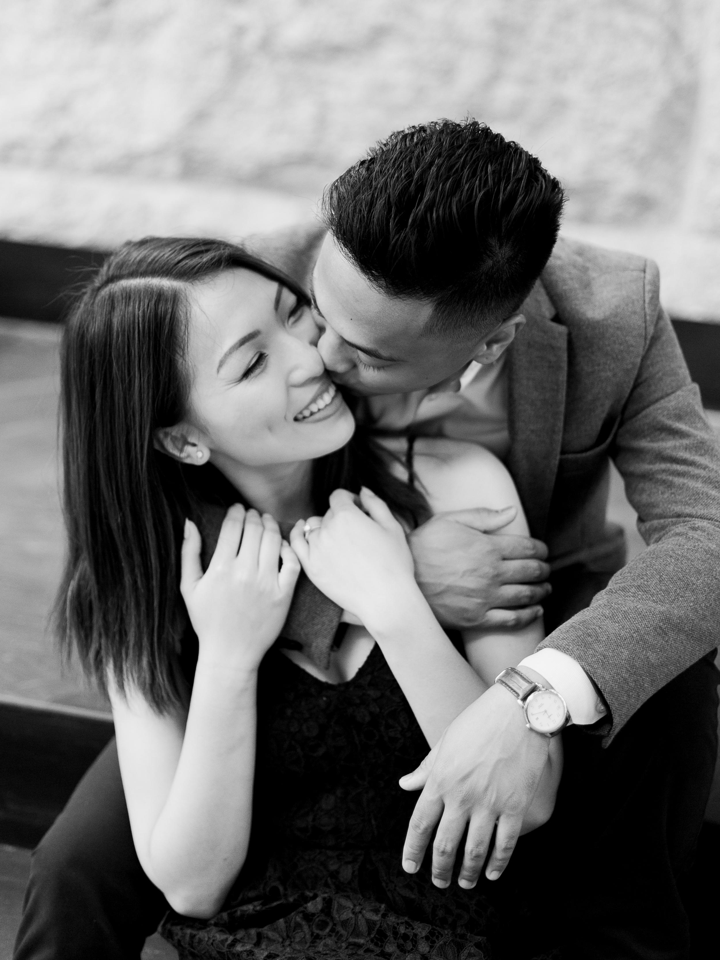 Romantic-Black-And-White-Engagement-Photoshoot-Winnipeg-Manitoba-Keila-Marie-Photography
