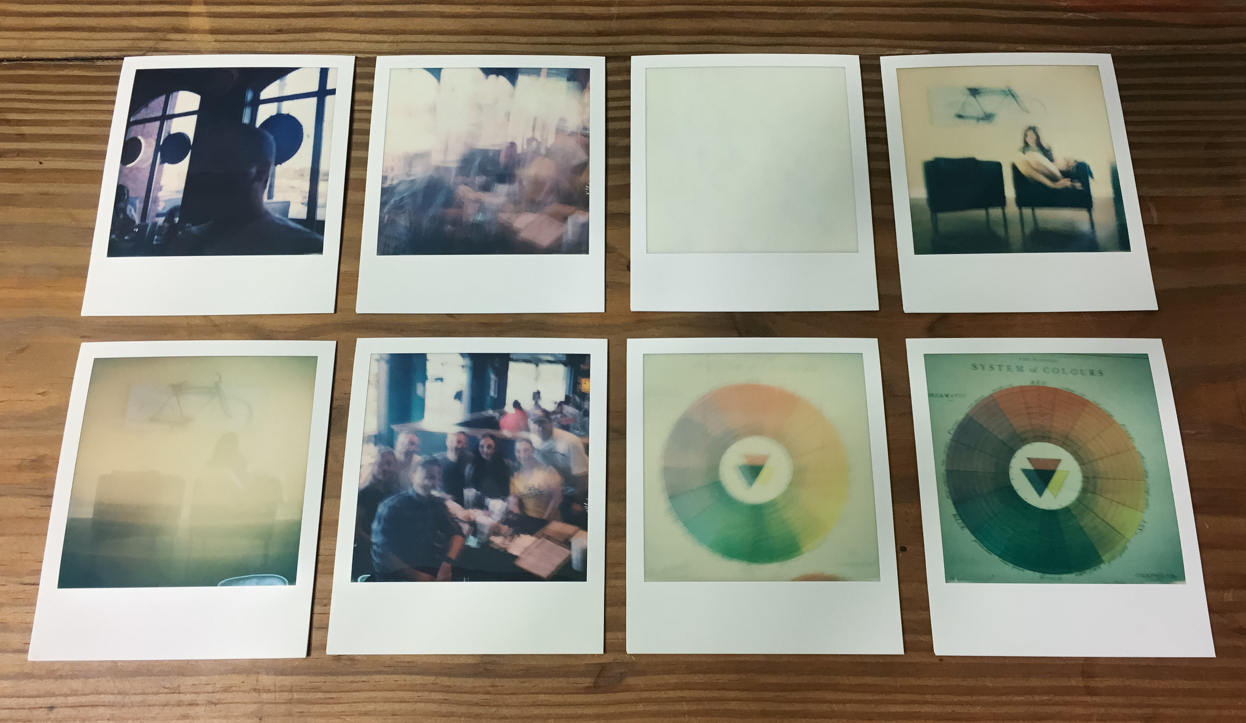 These 8 didn't quite work out. Mostly because I was shooting the low ISO SX-70 film indoors.