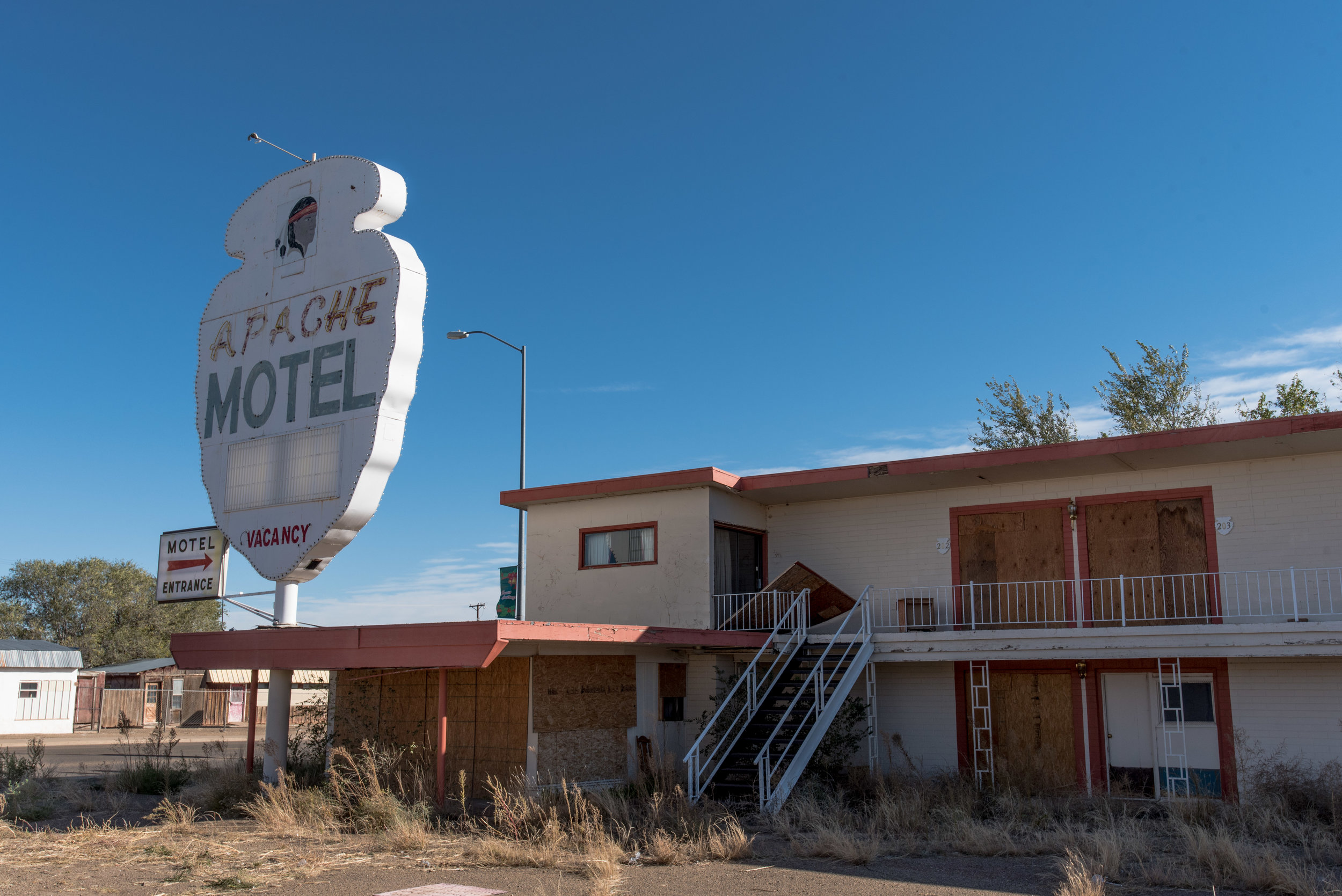 Not all Motels along Route 66 have been as fortunate as the Blue Swallow.
