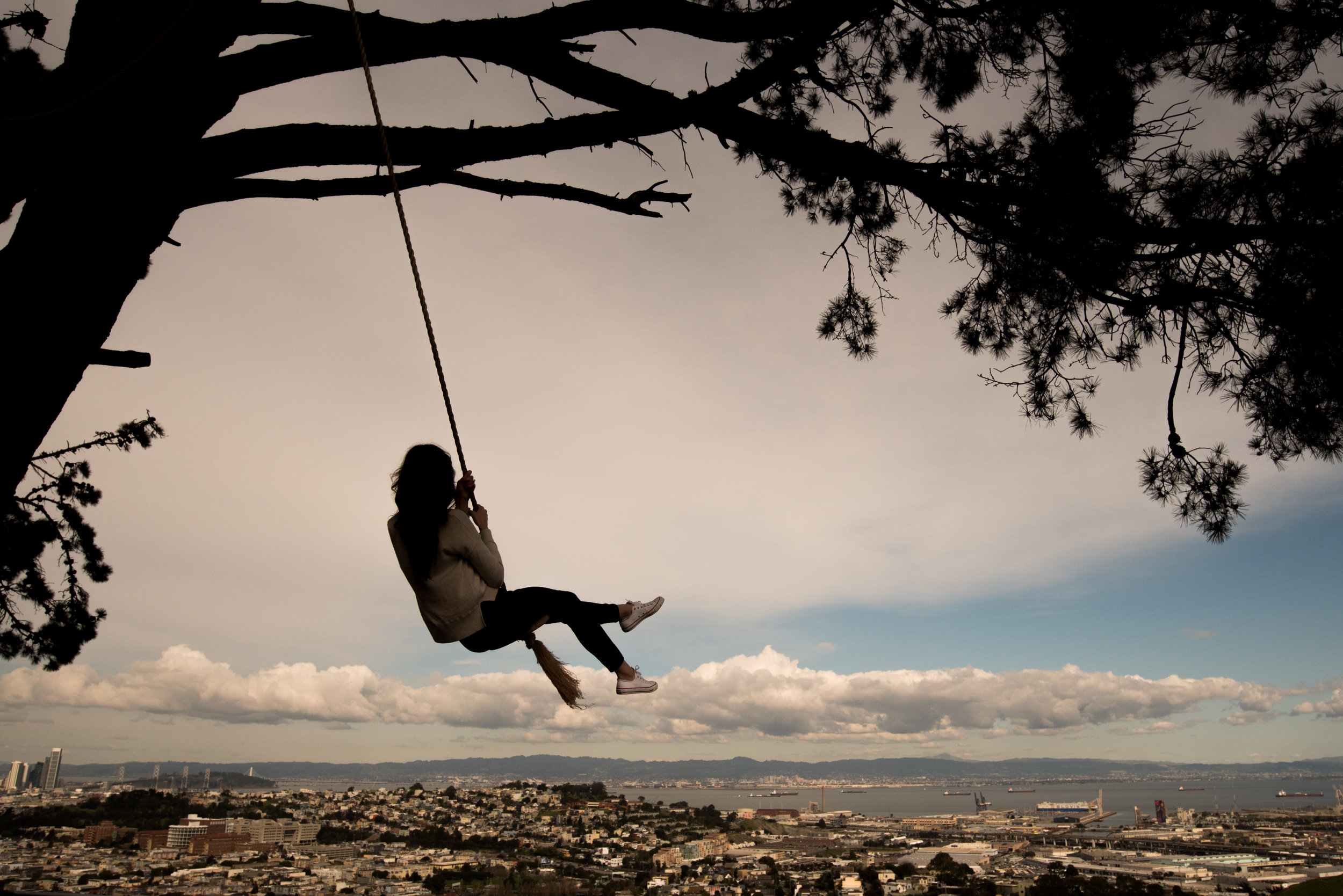 Bernal Heights Summit Swing
