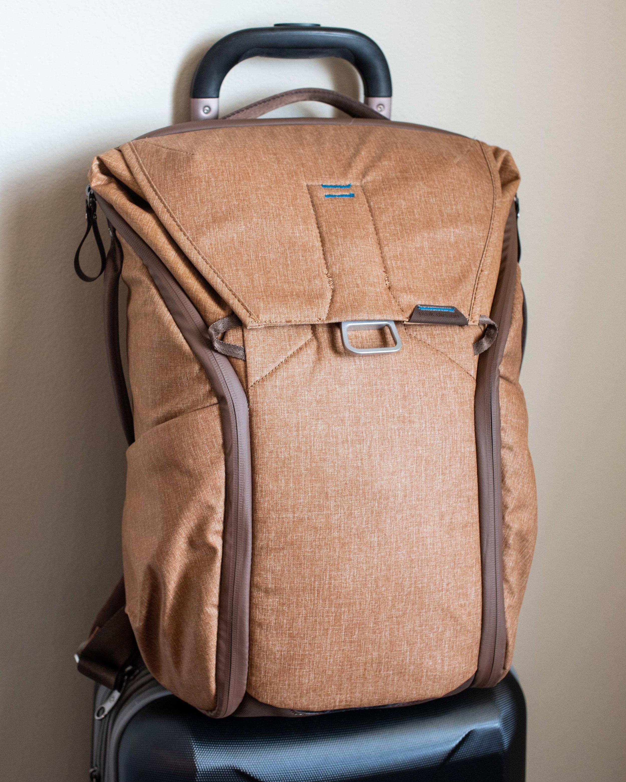 The Peak Designs 20L Everyday Backpack.