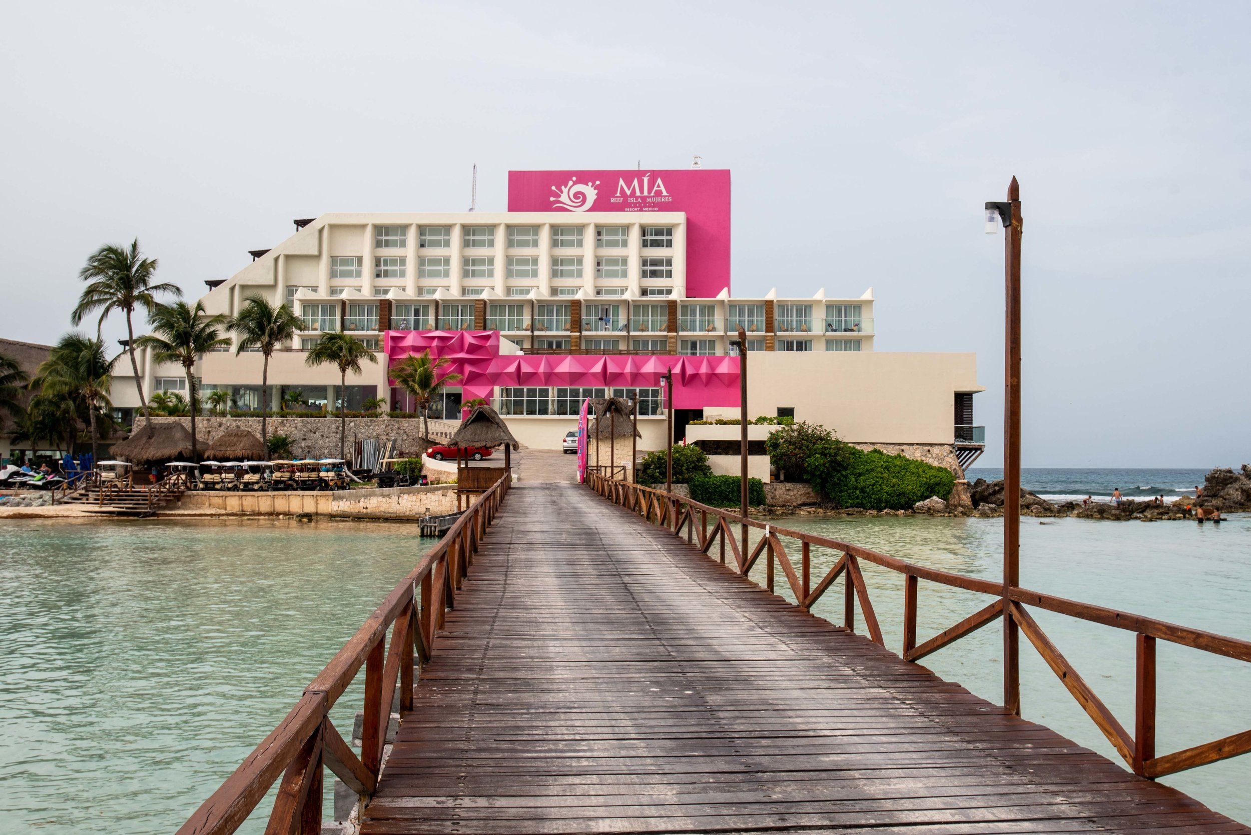 The Mia Reef all-inclusive in Isla Mujeres, Mexico.