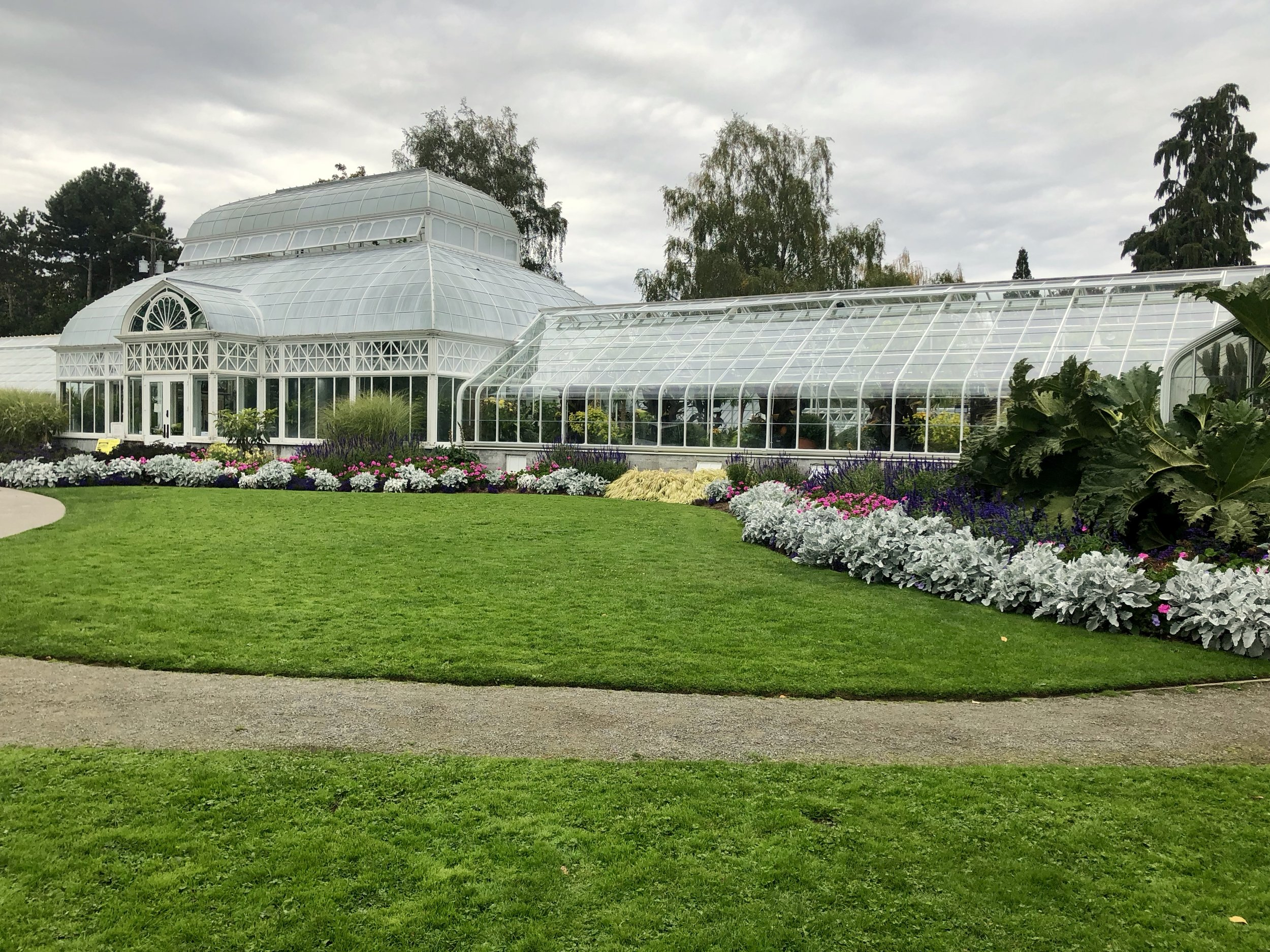 The conservatory in Volunteer Park