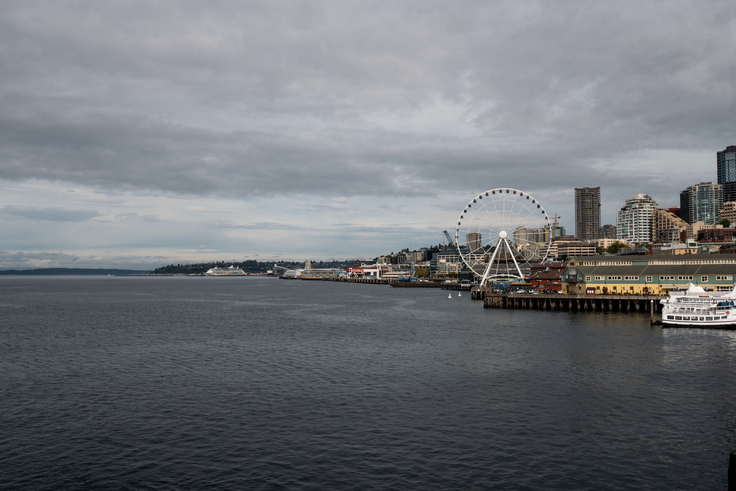Seattle, from the ferry.