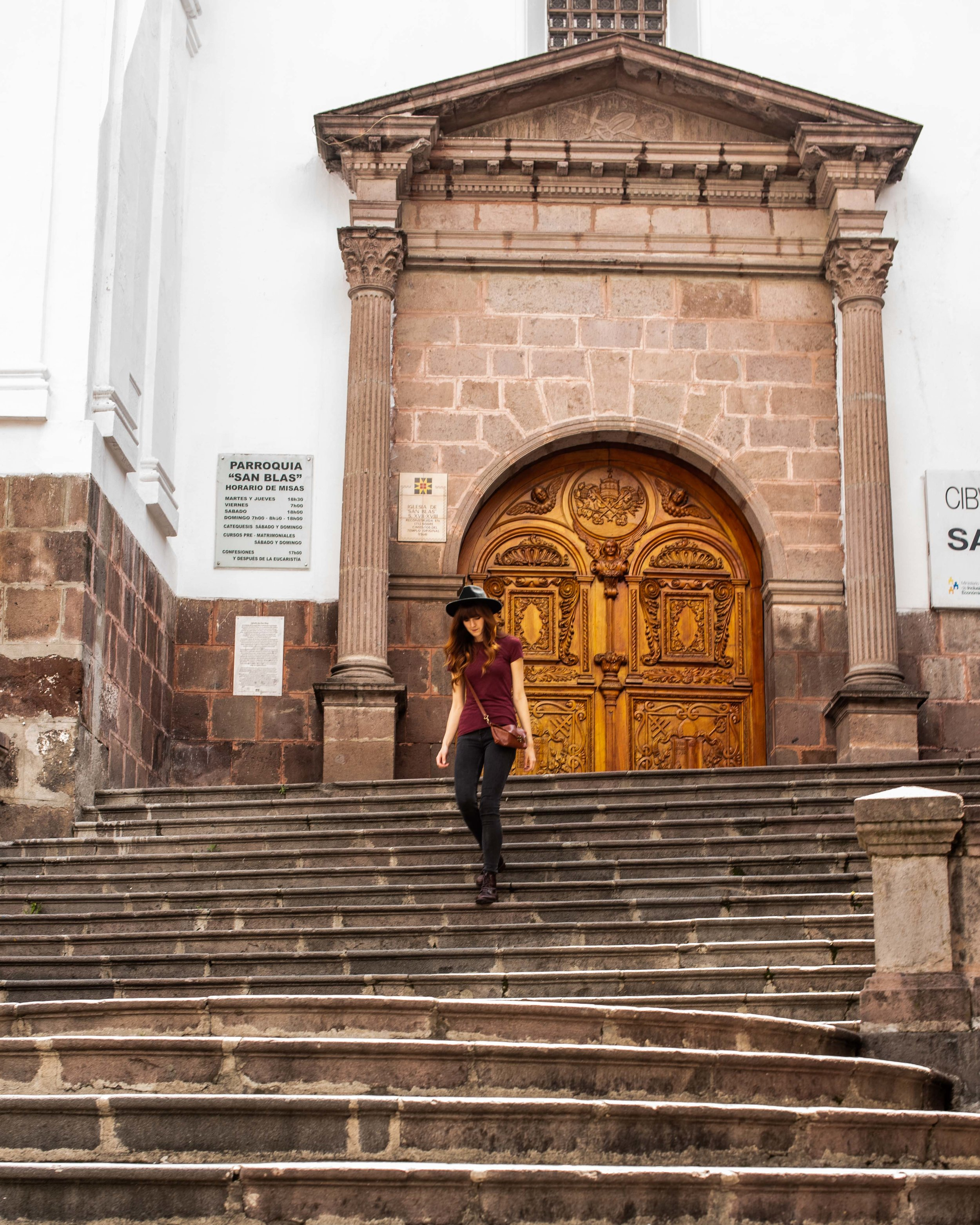 Visit Old Town in Quito.