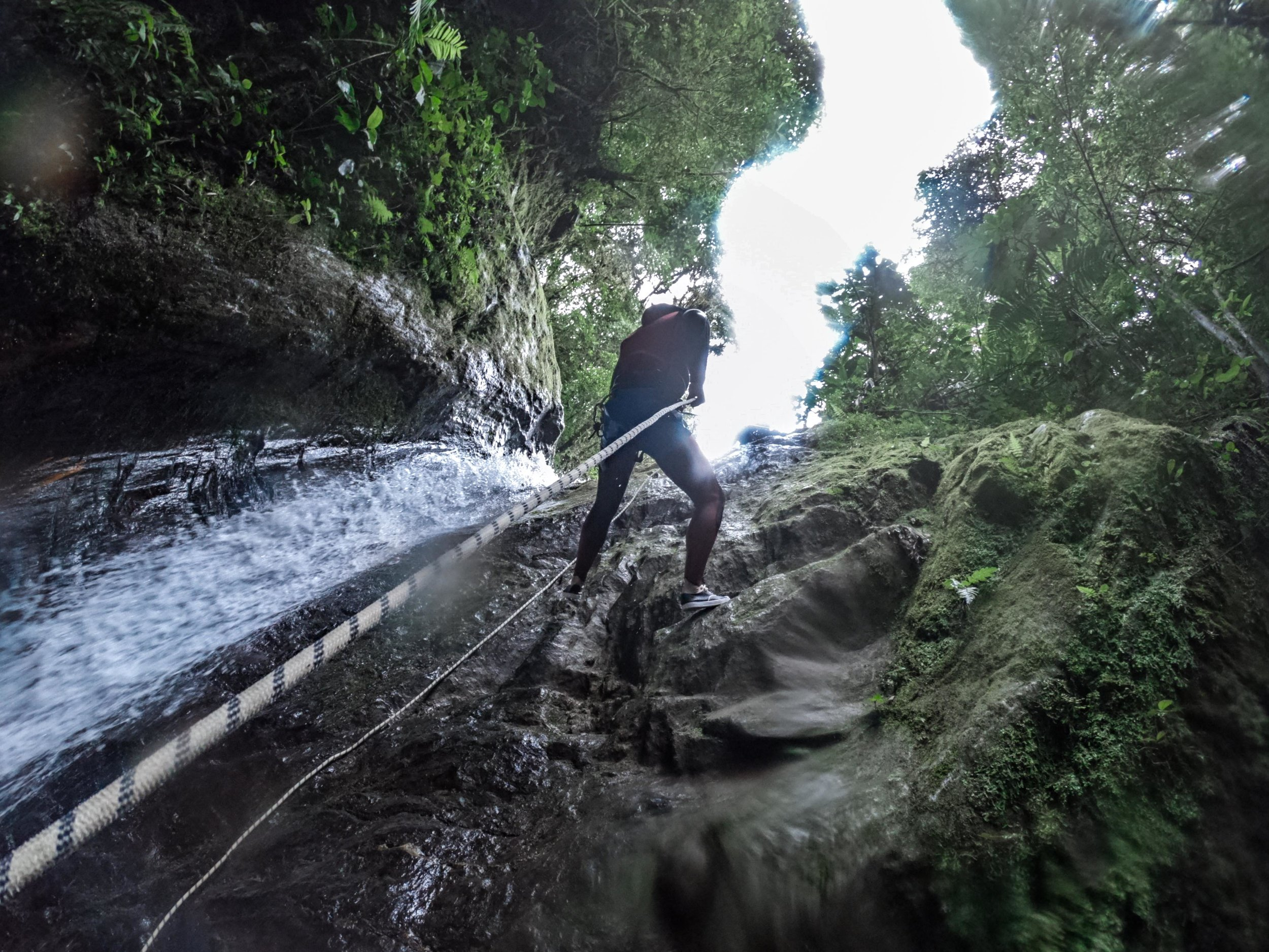 Go canyoning with  Geotours .