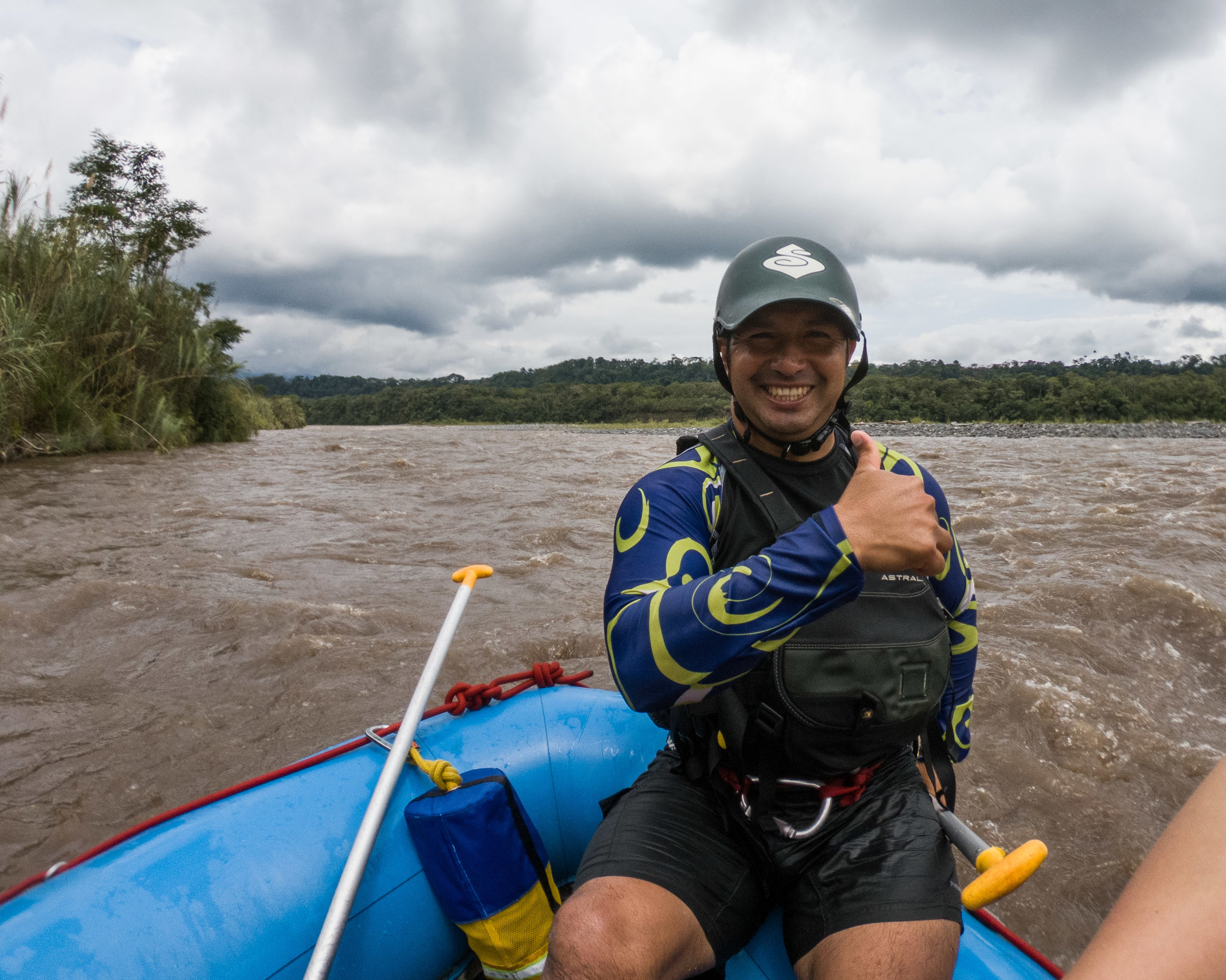 Our rafting guide.