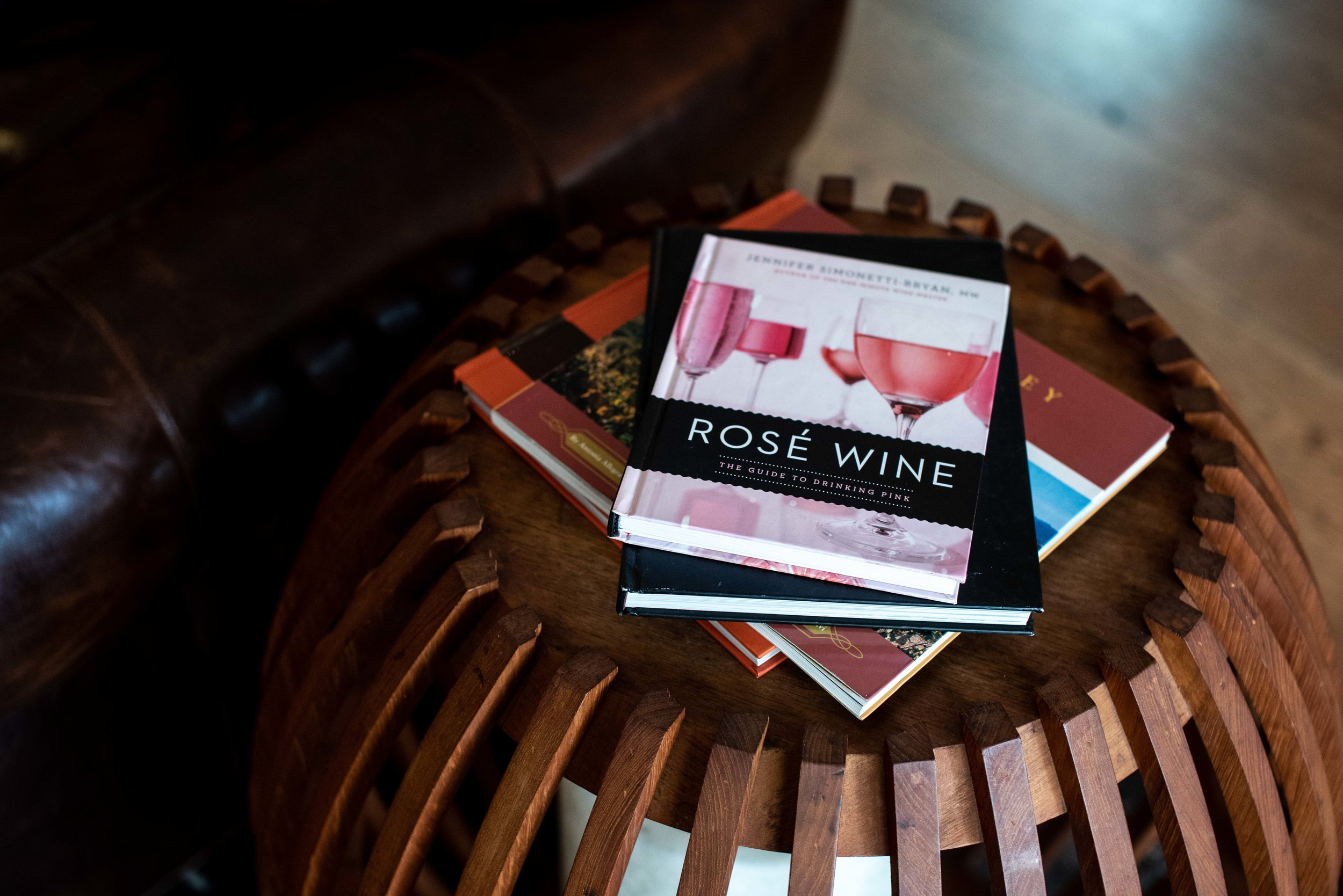 Of course there are books on wine.