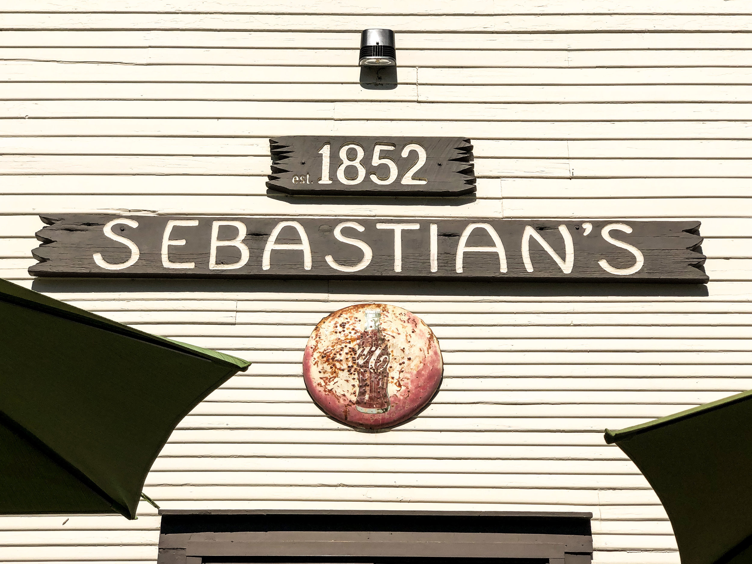 We had lunch at Sebastian's.